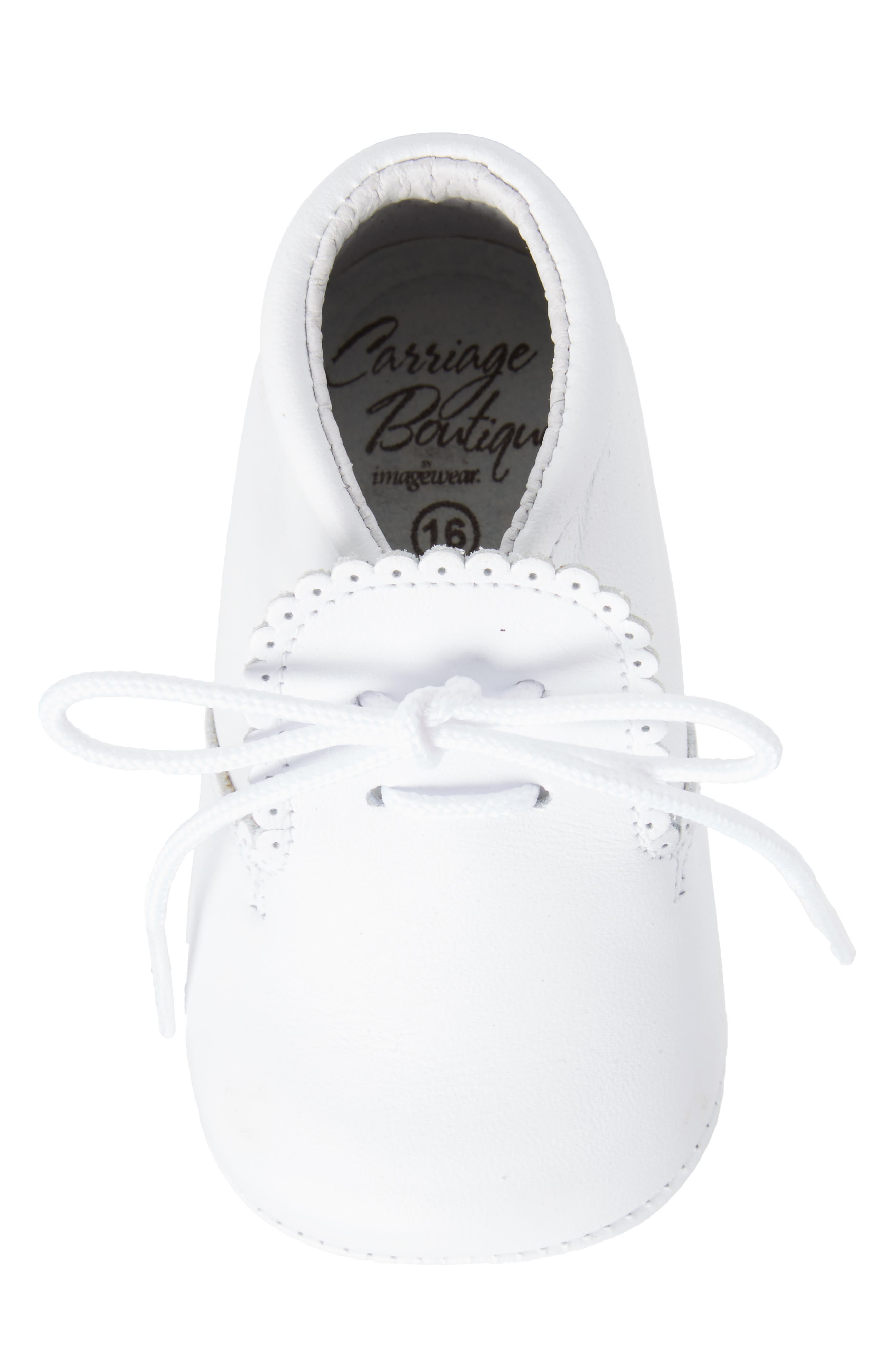 Crib Shoe,                             Alternate thumbnail 5, color,                             WHITE
