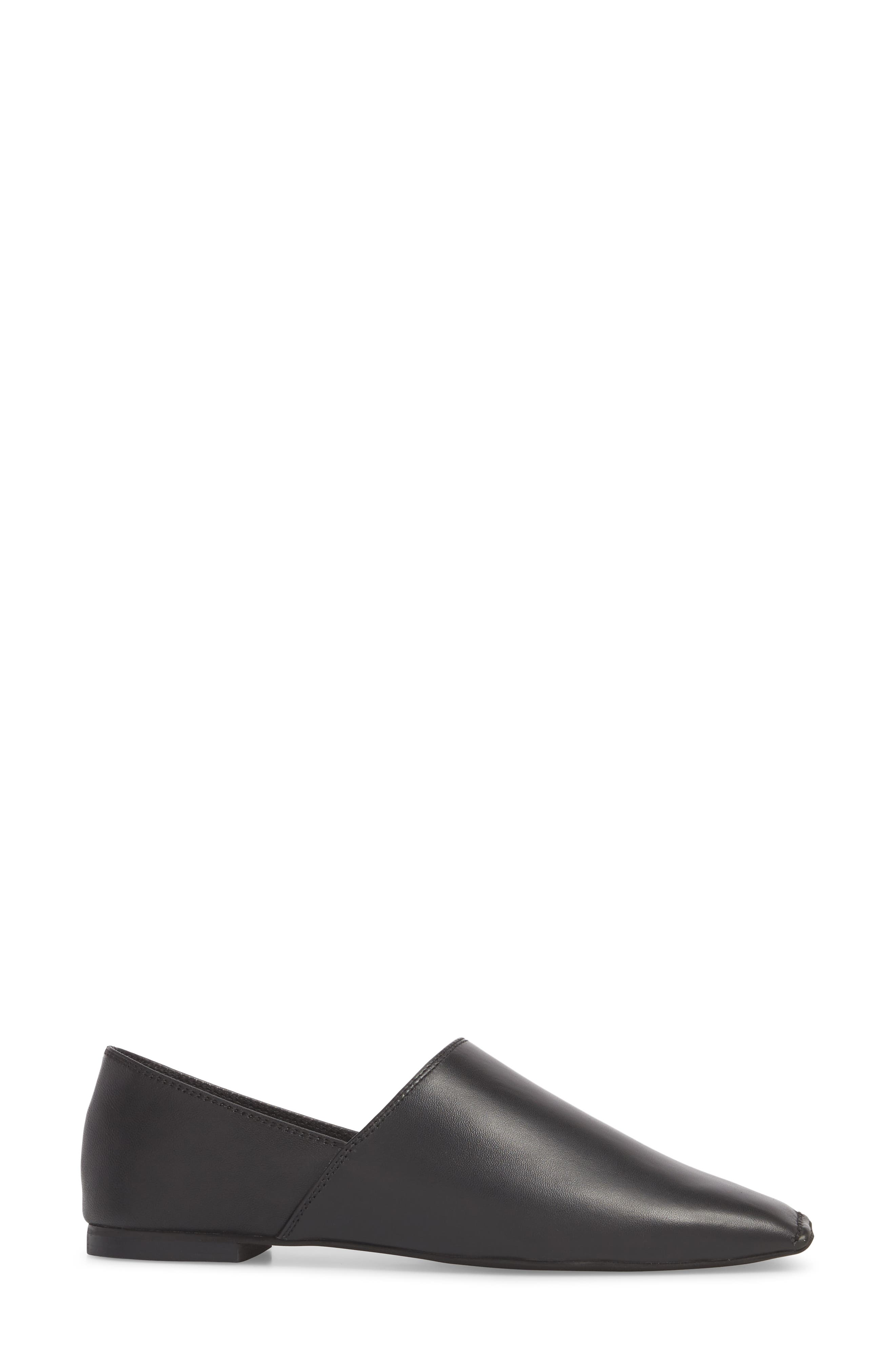 JEFFREY CAMPBELL,                             Lanvale Blunted Toe Flat,                             Alternate thumbnail 3, color,                             001