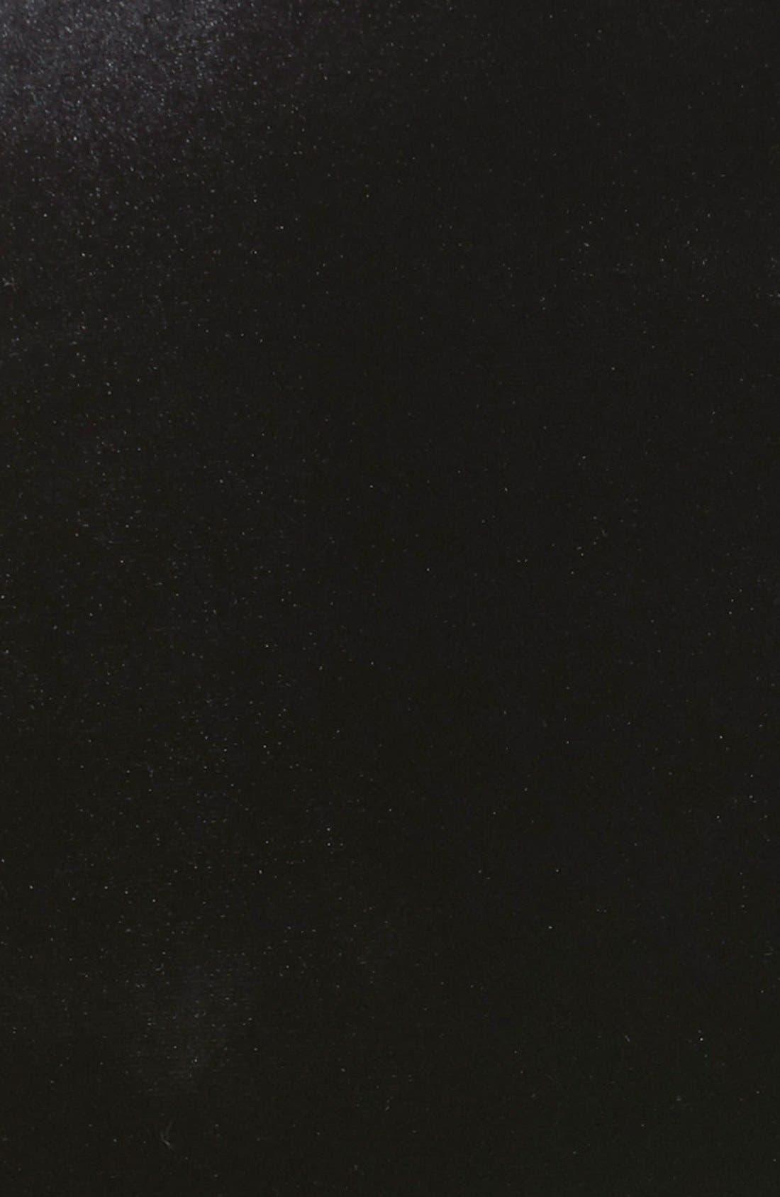 Satin Combo Jacket,                             Alternate thumbnail 3, color,                             001