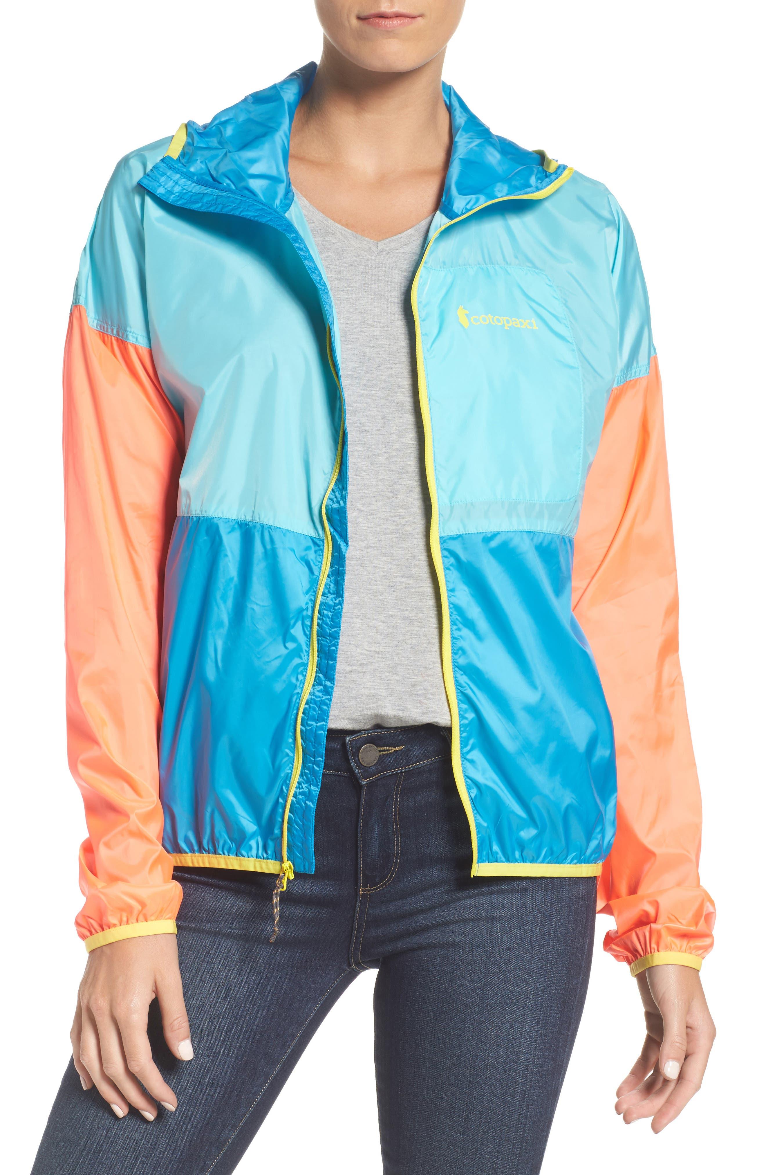 Teca Packable Water Resistant Windbreaker Jacket,                             Main thumbnail 3, color,