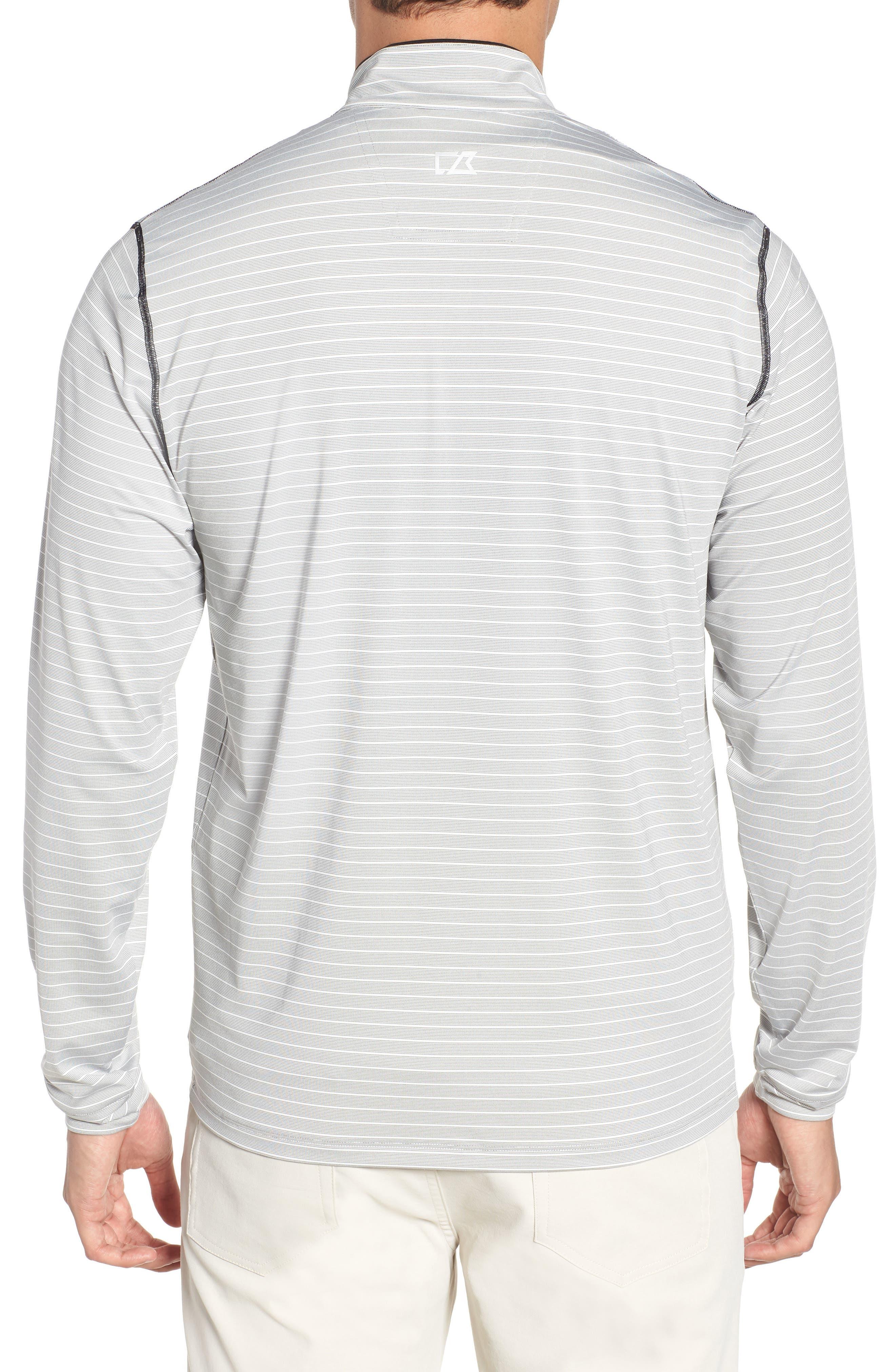 Meridian - Kansas City Chiefs Regular Fit Half Zip Pullover,                             Alternate thumbnail 2, color,                             BLACK