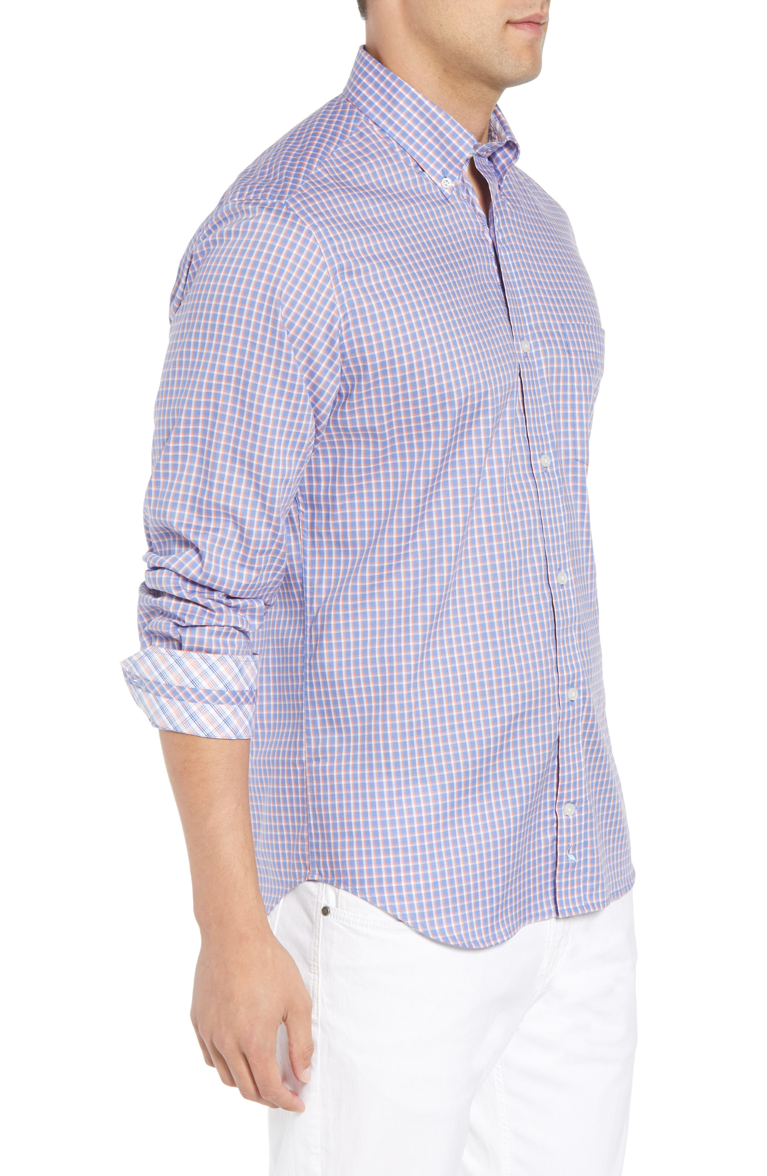 Jaie Regular Fit Check Sport Shirt,                             Alternate thumbnail 3, color,                             400