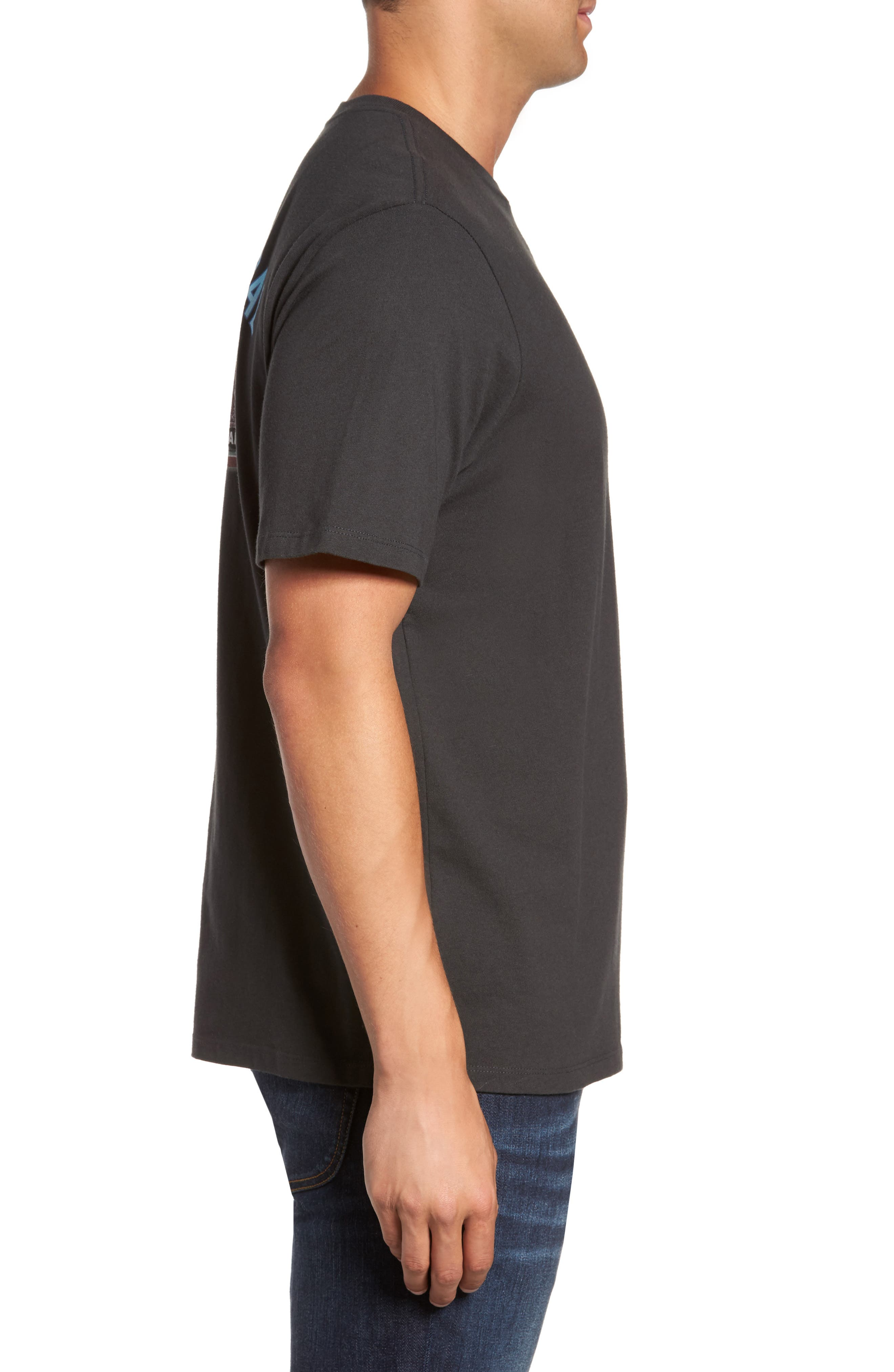 First and Coal Standard Fit T-Shirt,                             Alternate thumbnail 3, color,                             001