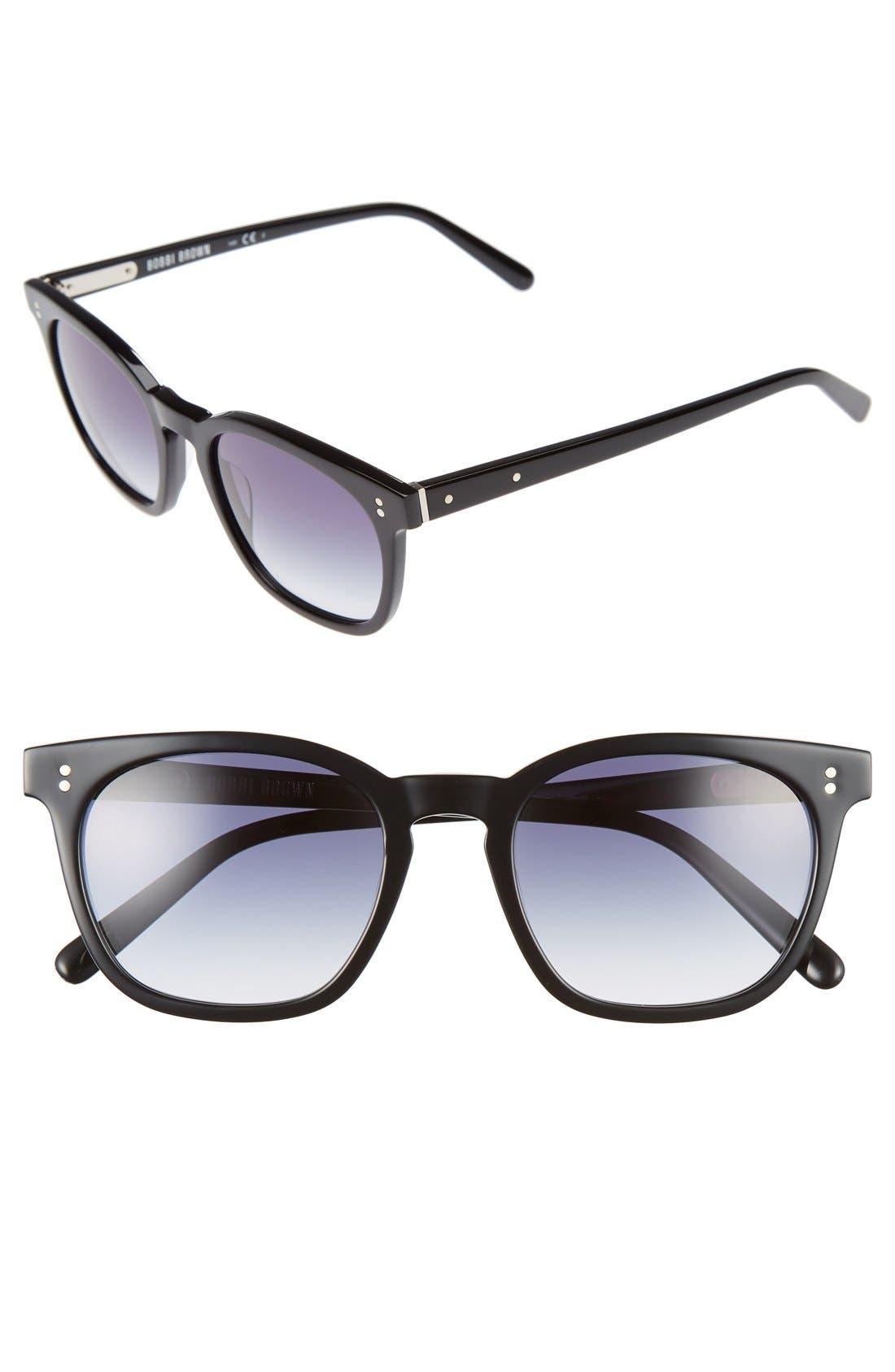 The Cassandra 50mm Sunglasses,                         Main,                         color, 001