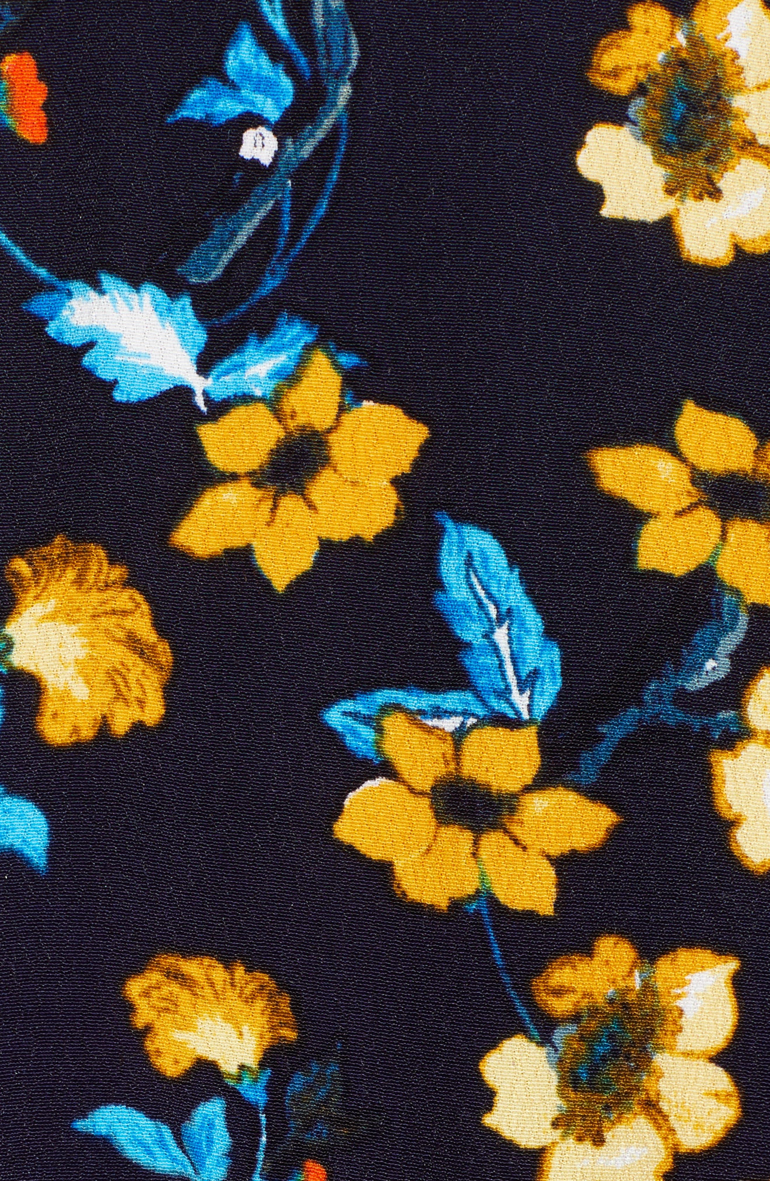 Apron Front Long Sleeve Dress,                             Alternate thumbnail 5, color,                             400