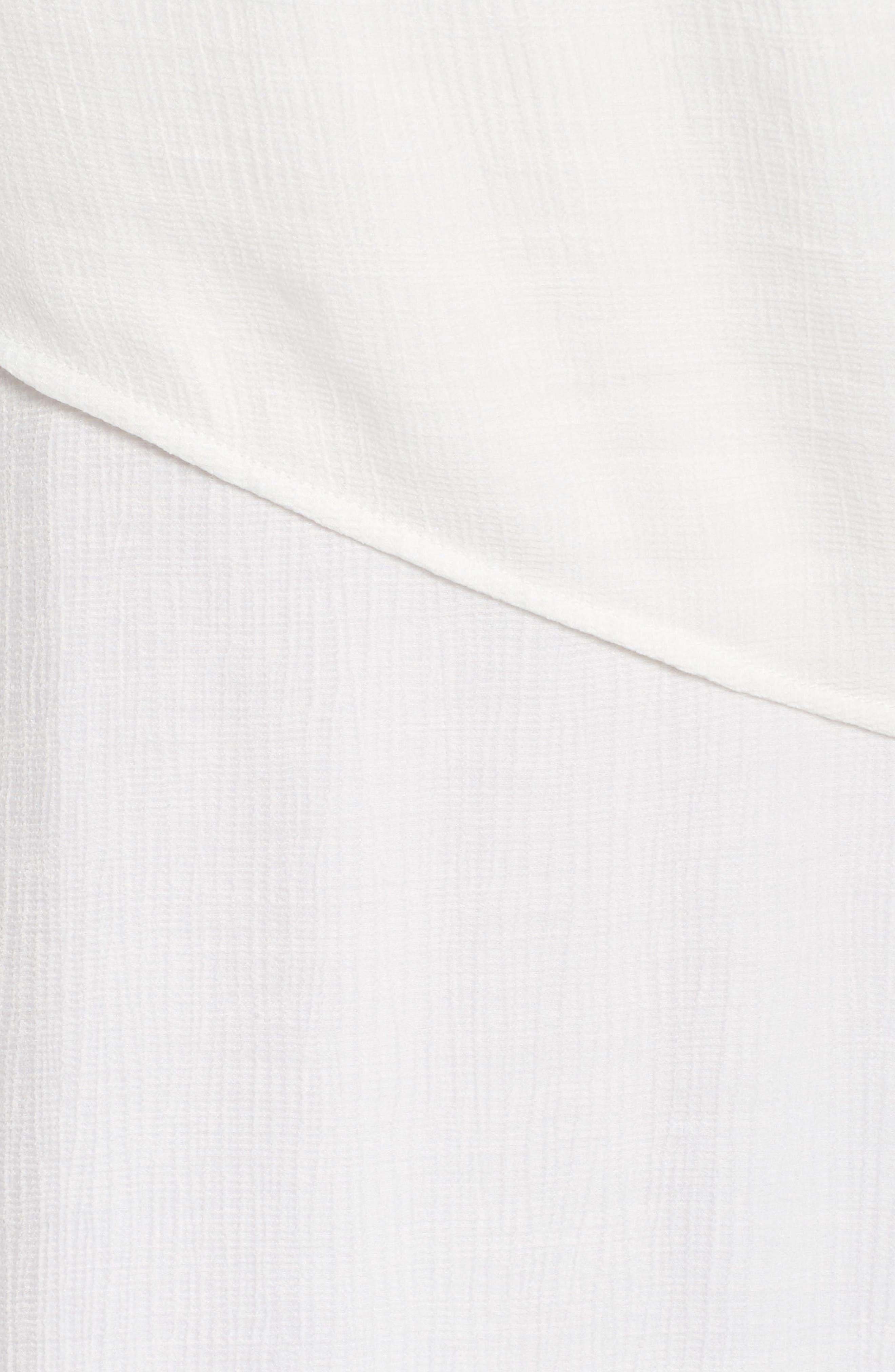 Knot Waist Skater Dress,                             Alternate thumbnail 5, color,