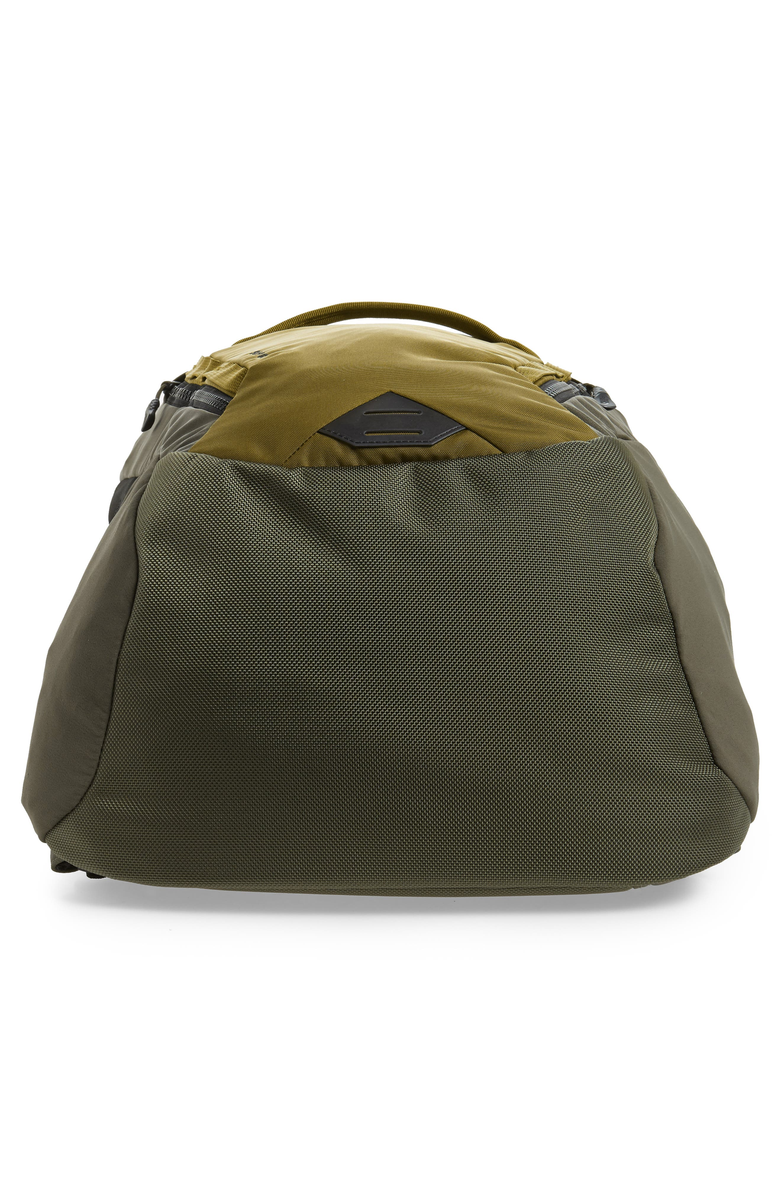 Surge Backpack,                             Alternate thumbnail 6, color,                             FIR GREEN/ NEW TAUPE GREEN