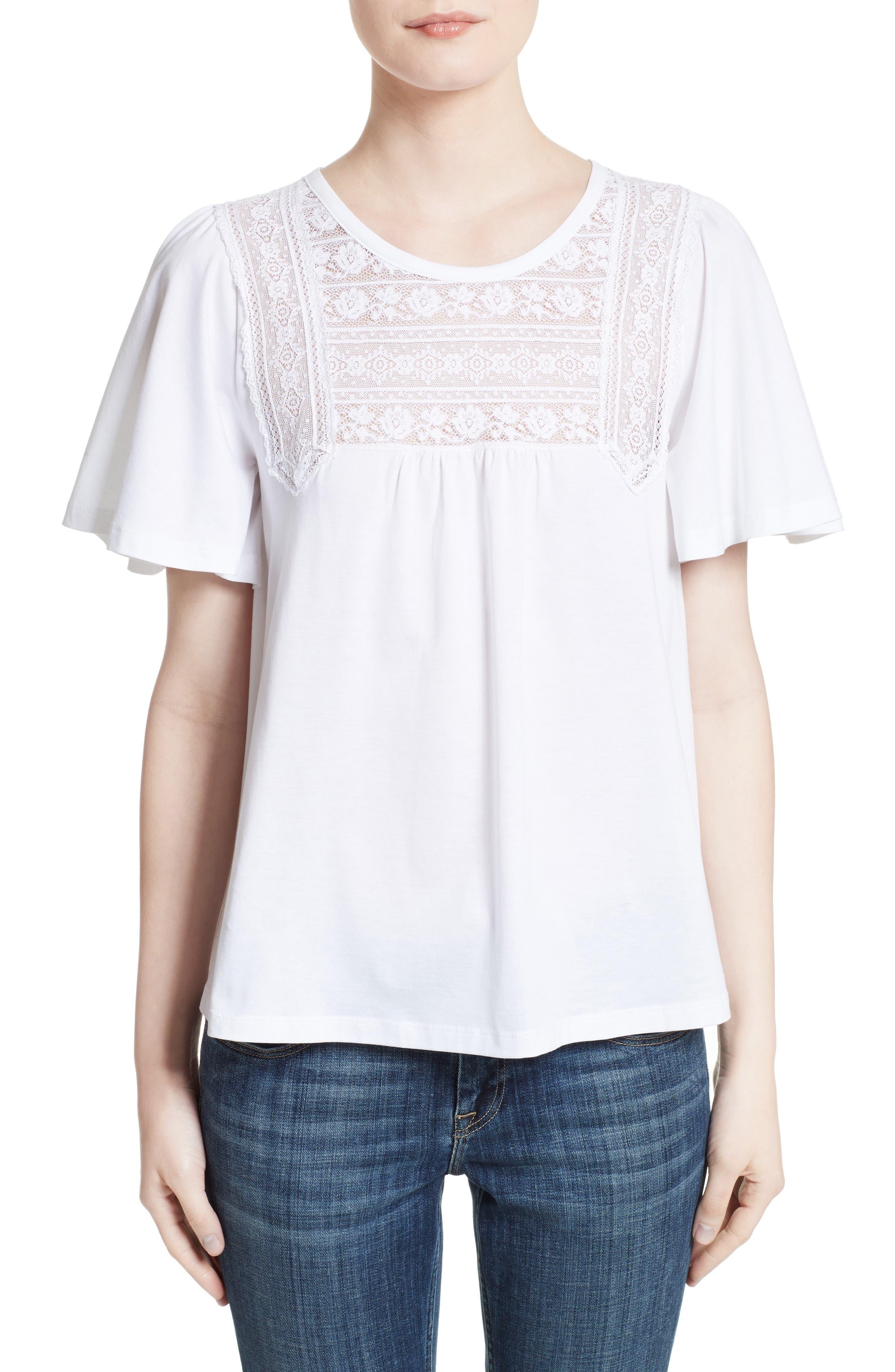 Olo Cotton Top,                         Main,                         color, 100