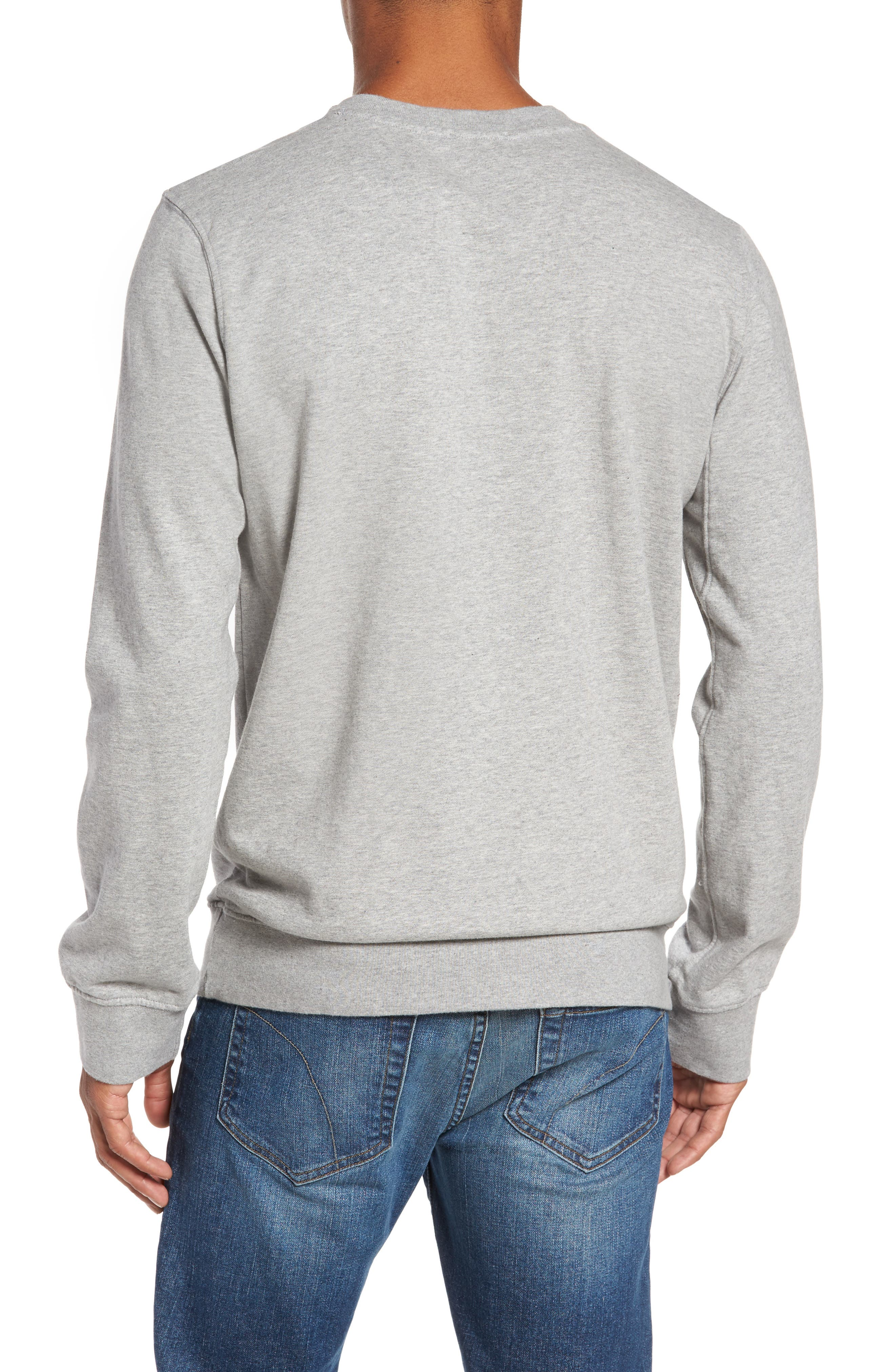 French Terry Sweatshirt,                             Alternate thumbnail 5, color,