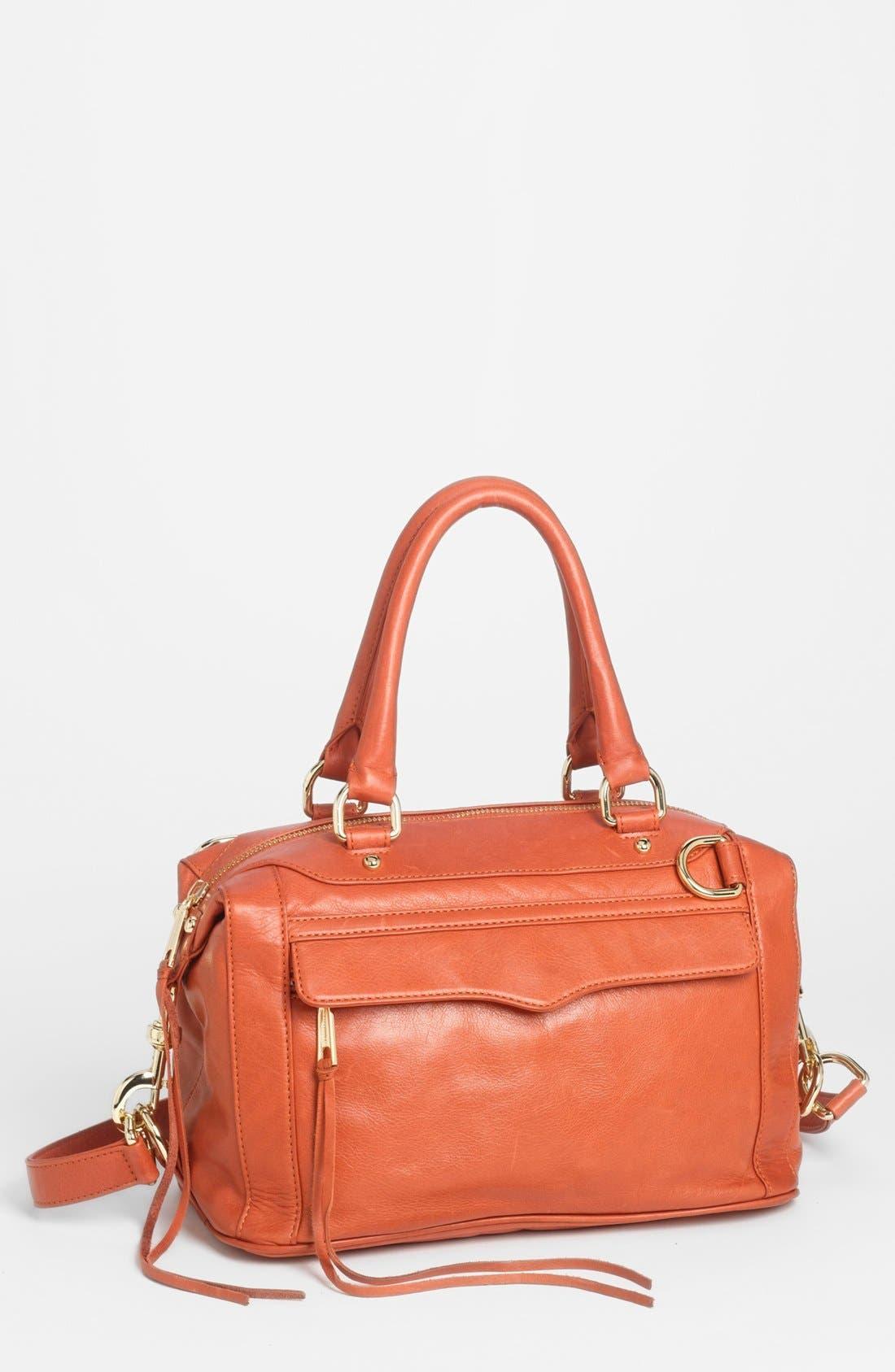 'MAB - Mini' Leather Satchel,                             Main thumbnail 14, color,