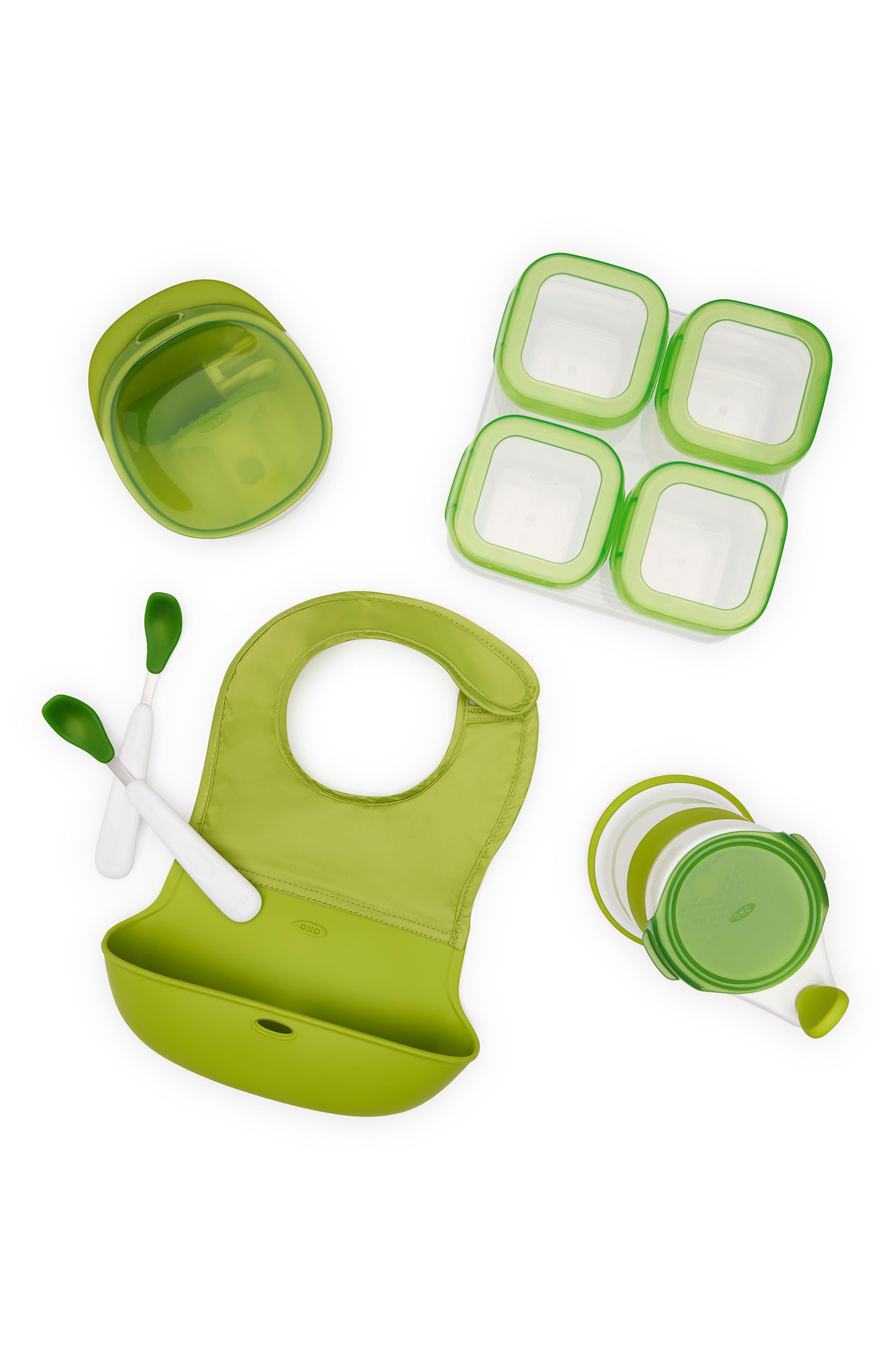 Complete Mealtime Prep Set,                         Main,                         color, GREEN
