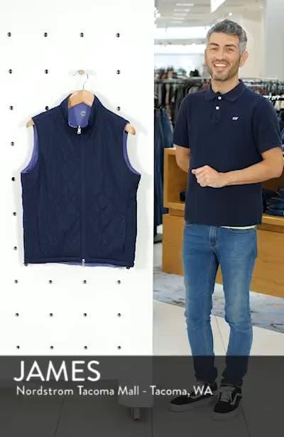 Deuce Regular Fit Reversible Quilted Vest, sales video thumbnail