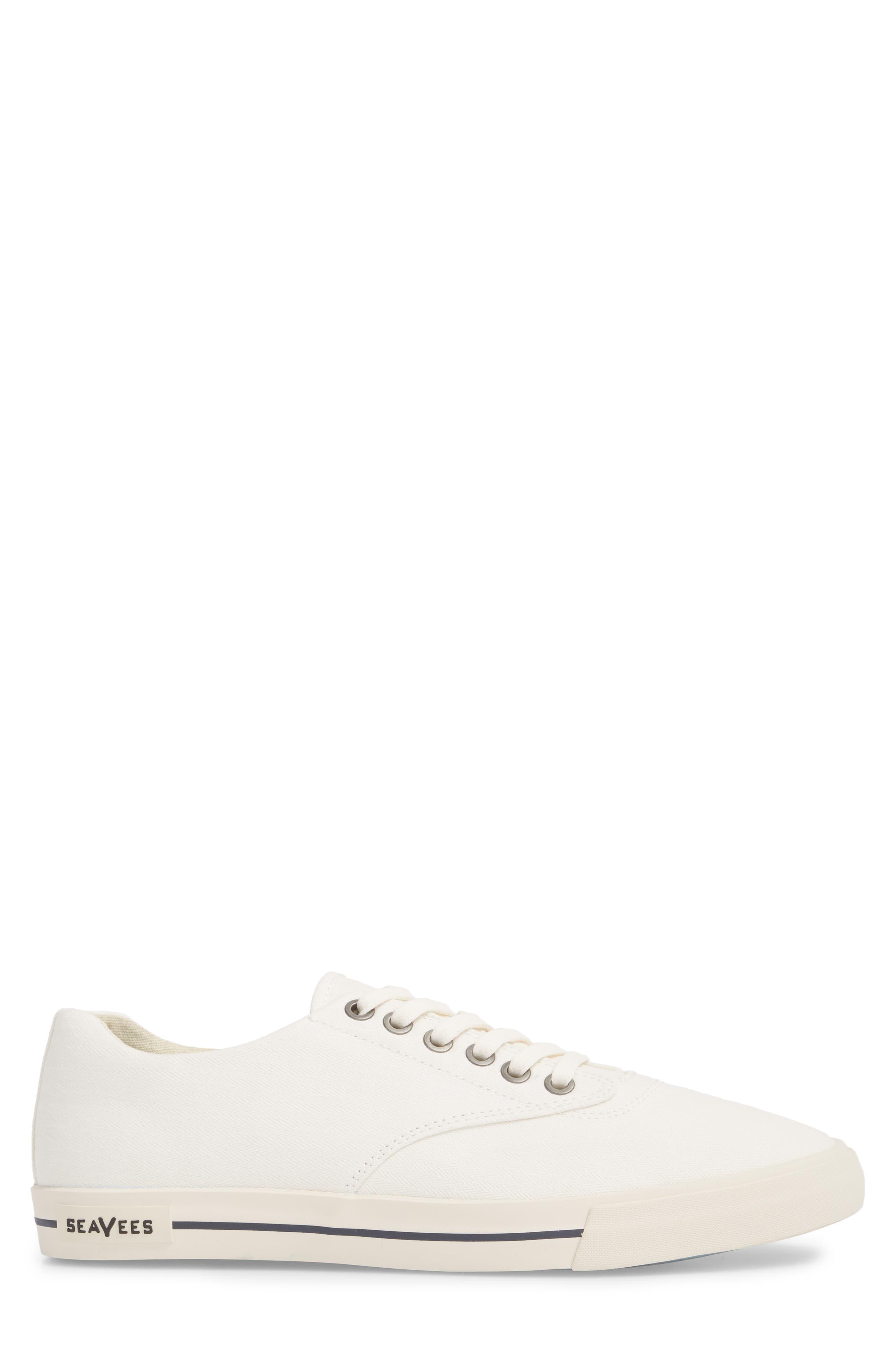 Hermosa Plimsoll Sneaker,                             Alternate thumbnail 3, color,                             BLEACH WHITE