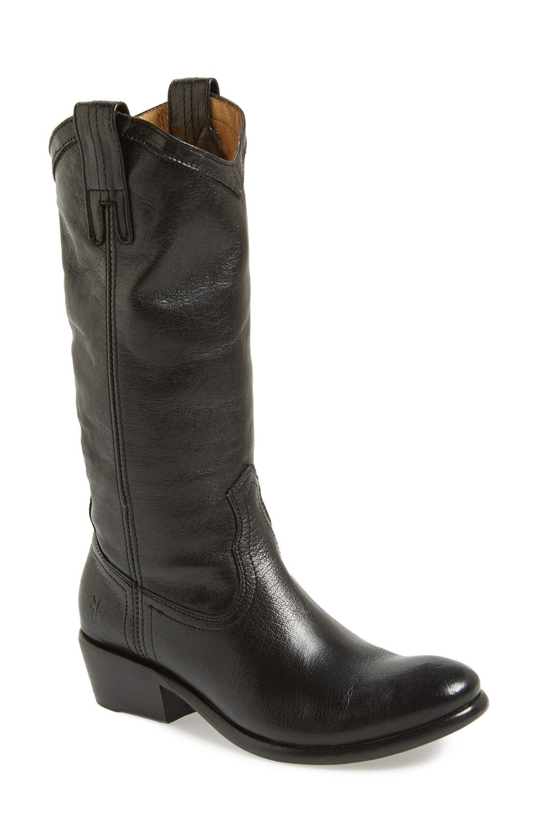 FRYE,                             'Carson' Pull-On Boot,                             Main thumbnail 1, color,                             001