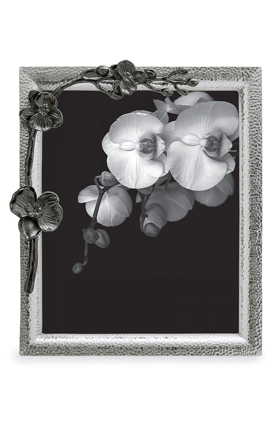 Black Orchid Picture Frame,                             Alternate thumbnail 3, color,                             OXFORD