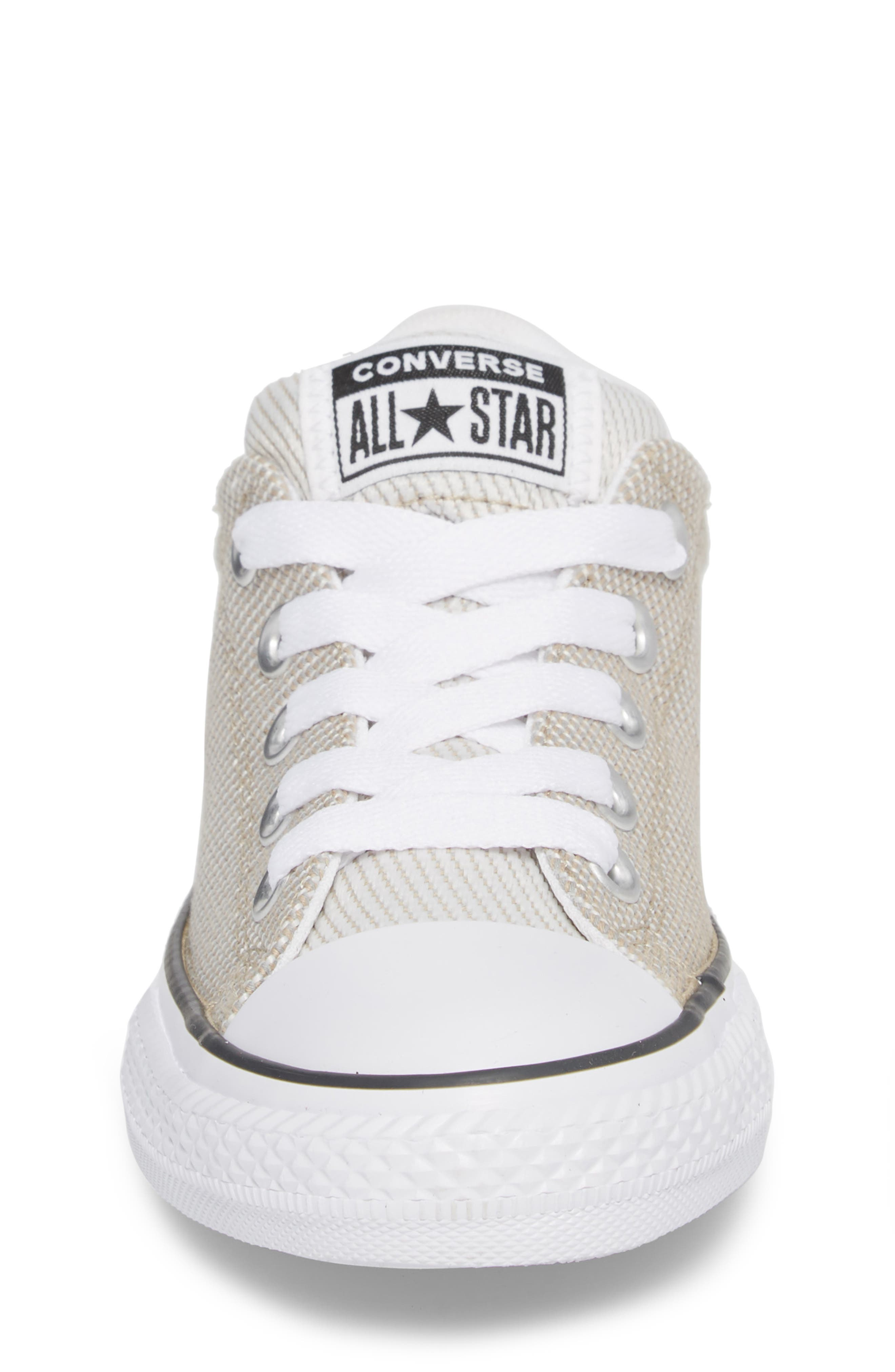 Chuck Taylor<sup>®</sup> All Star<sup>®</sup> Woven Street Sneaker,                             Alternate thumbnail 4, color,                             VINTAGE KHAKI