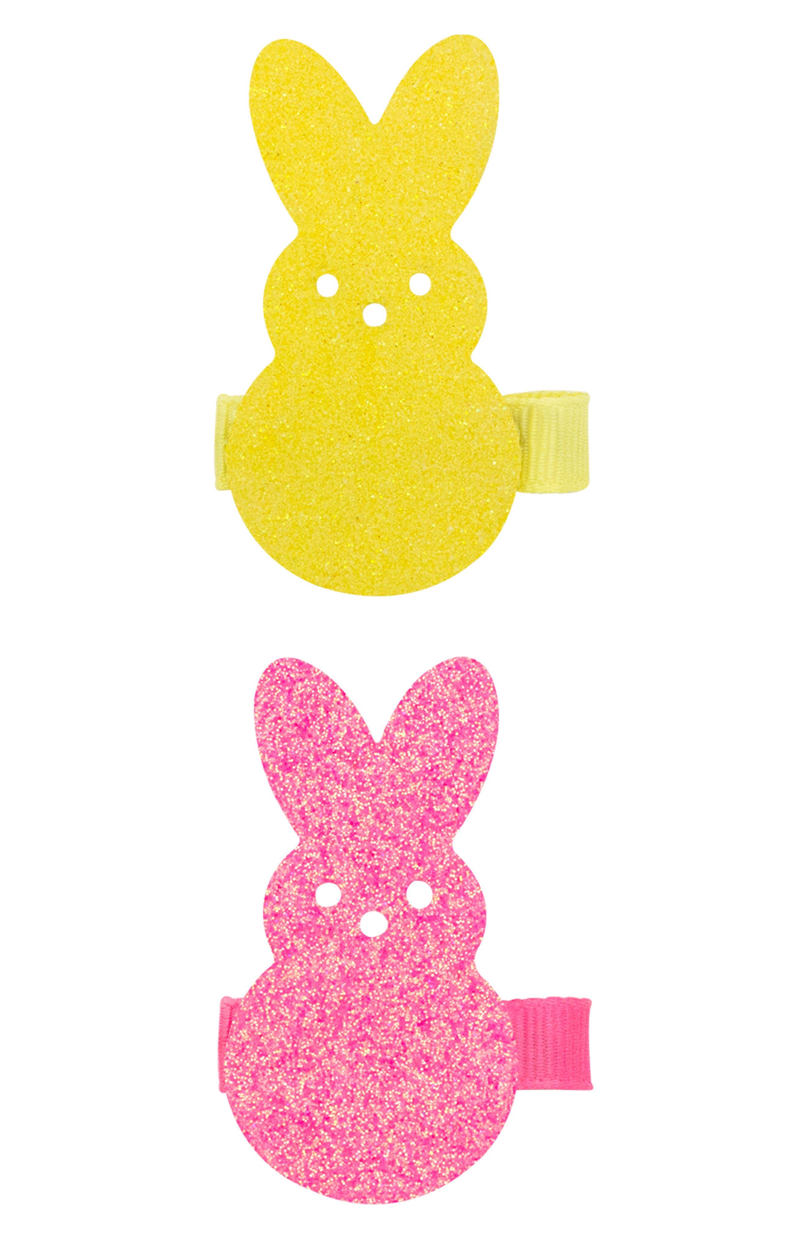 2-Pack Bunny Clips,                             Main thumbnail 2, color,