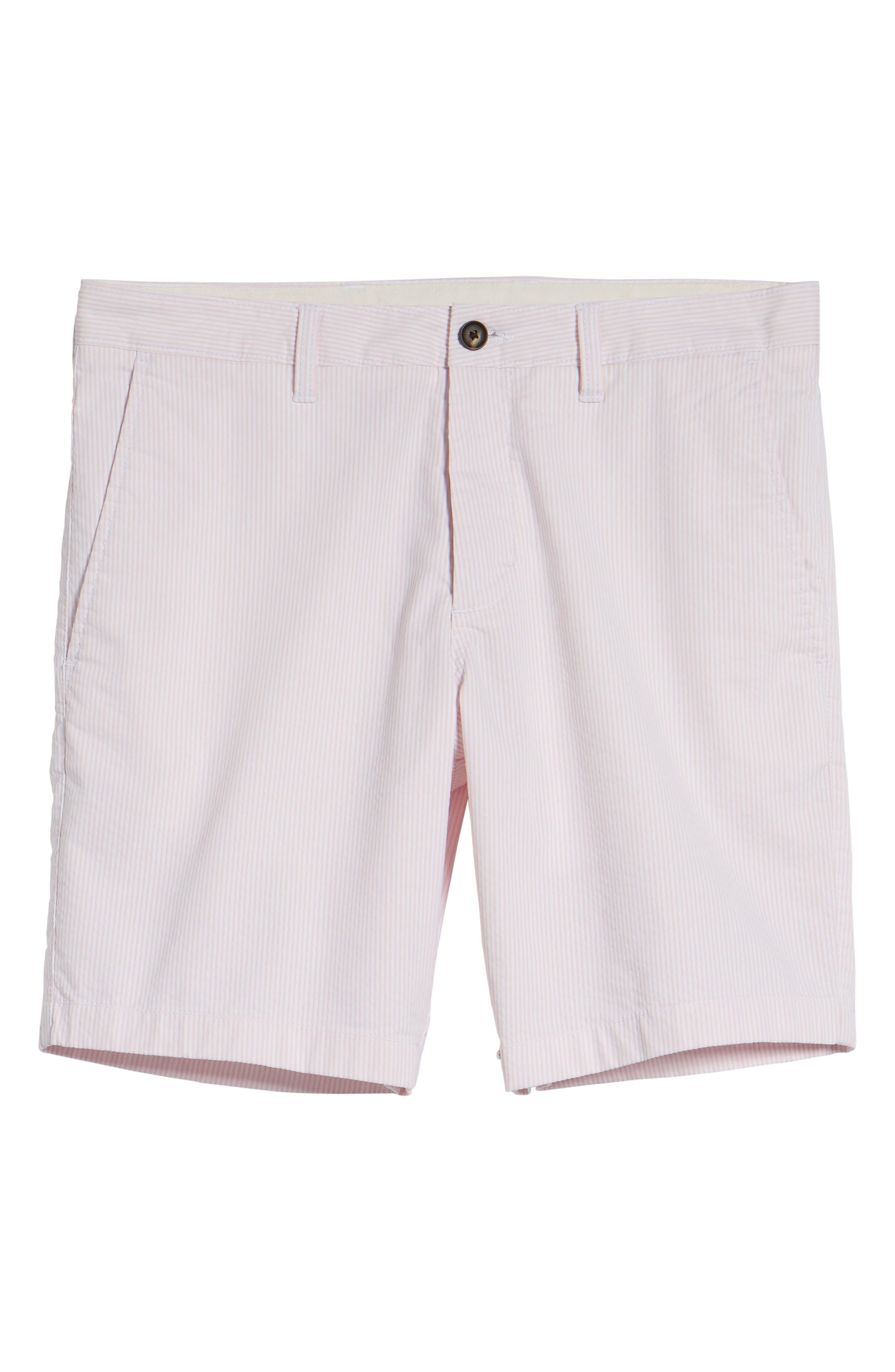 Ballard Slim Fit Seersucker Shorts,                             Alternate thumbnail 12, color,