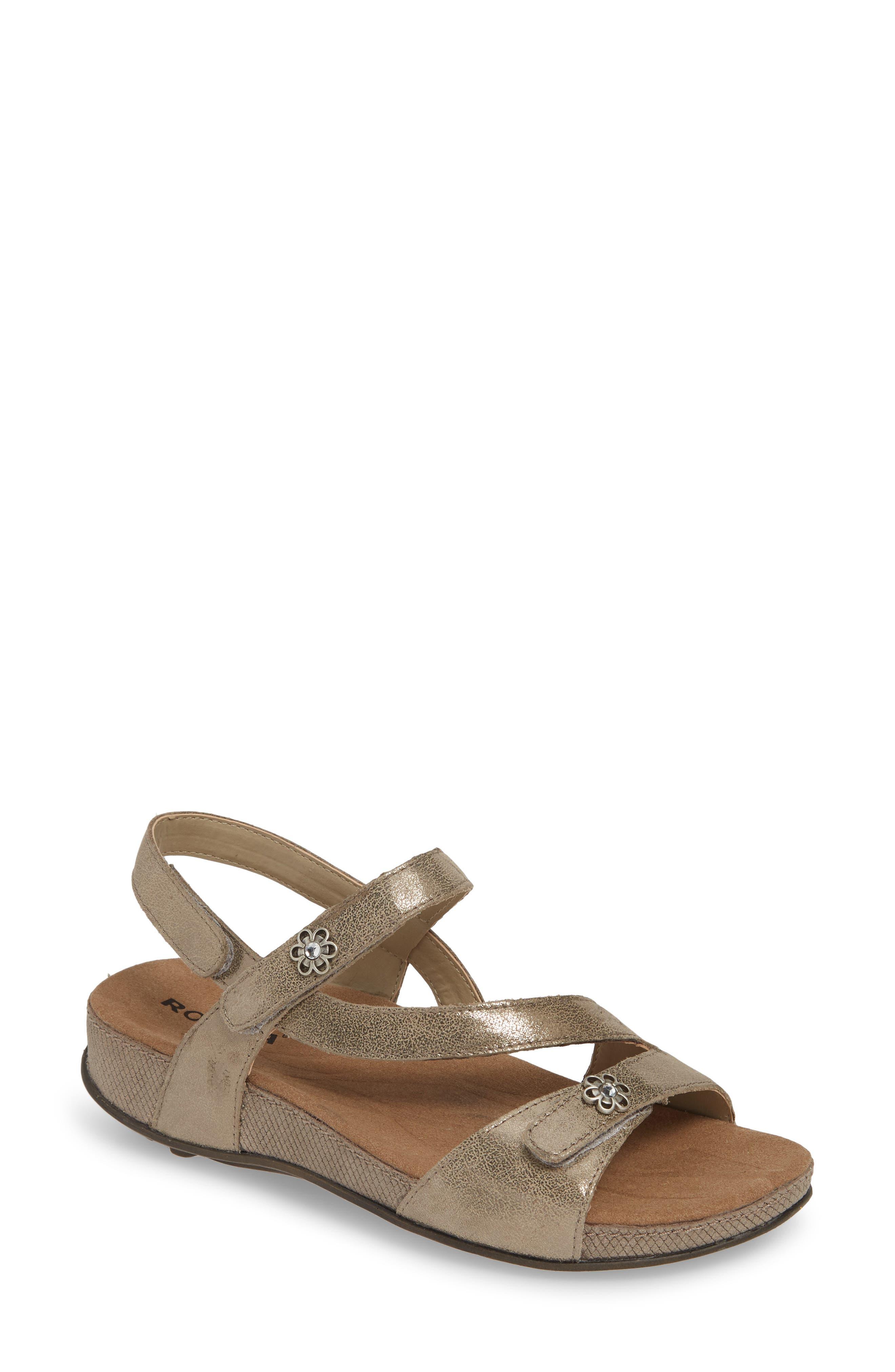 ROMIKA<SUP>®</SUP> Fidschi 54 Sandal, Main, color, BRONZE LEATHER