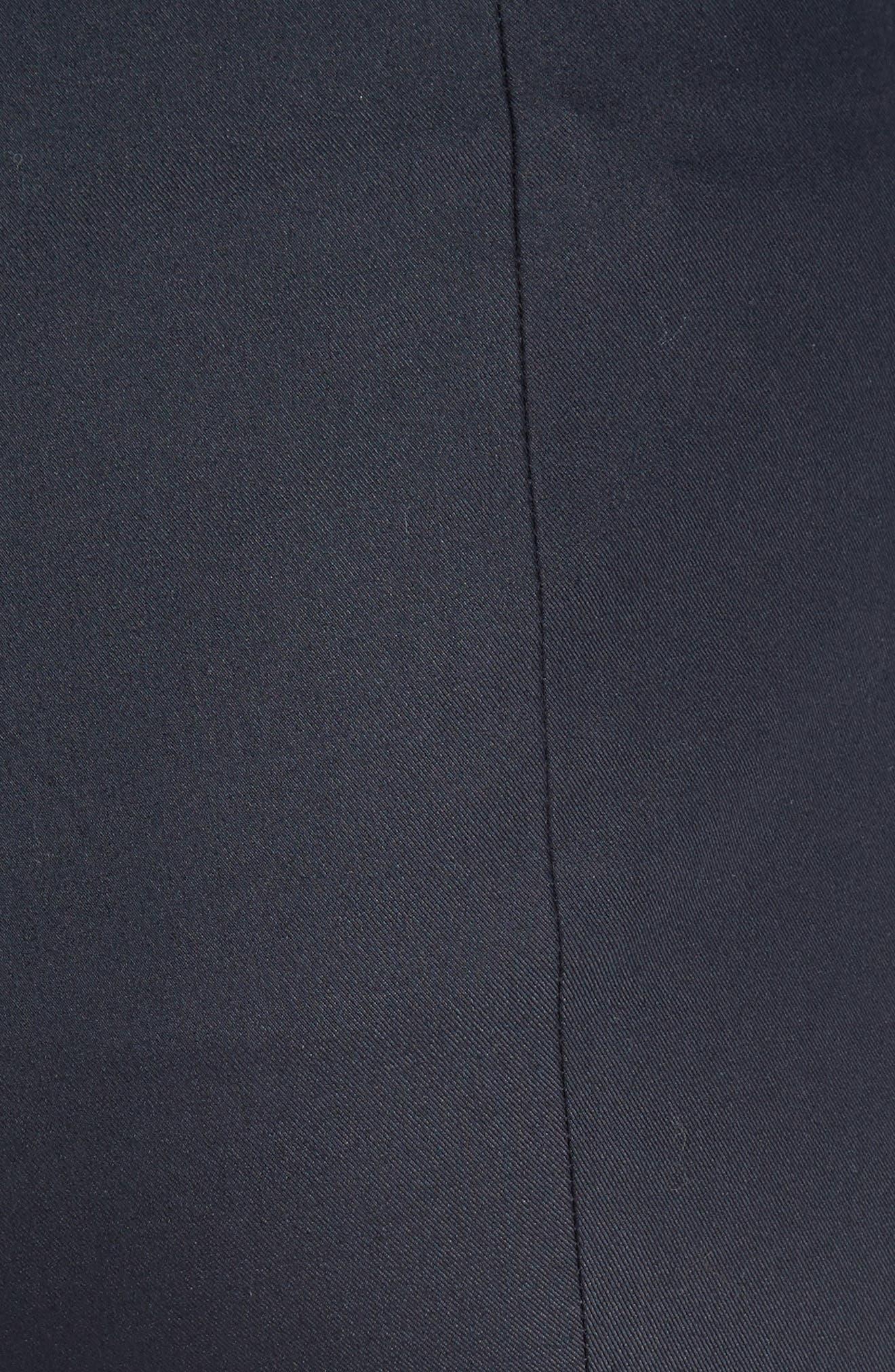 Alettah Stretch Skinny Pants,                             Alternate thumbnail 5, color,                             001
