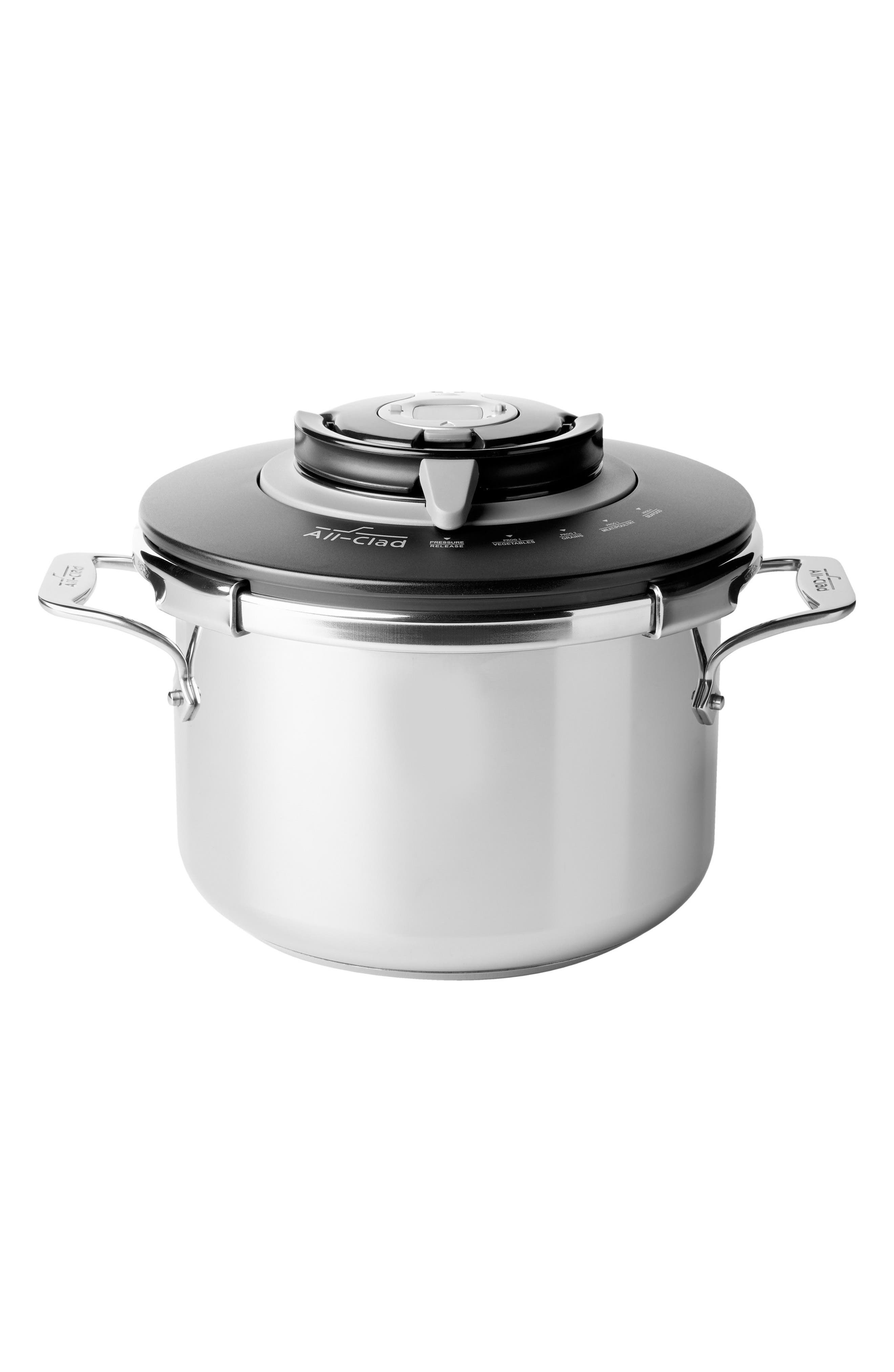 8.4-Quart Stovetop Pressure Cooker,                         Main,                         color, STAINLESS