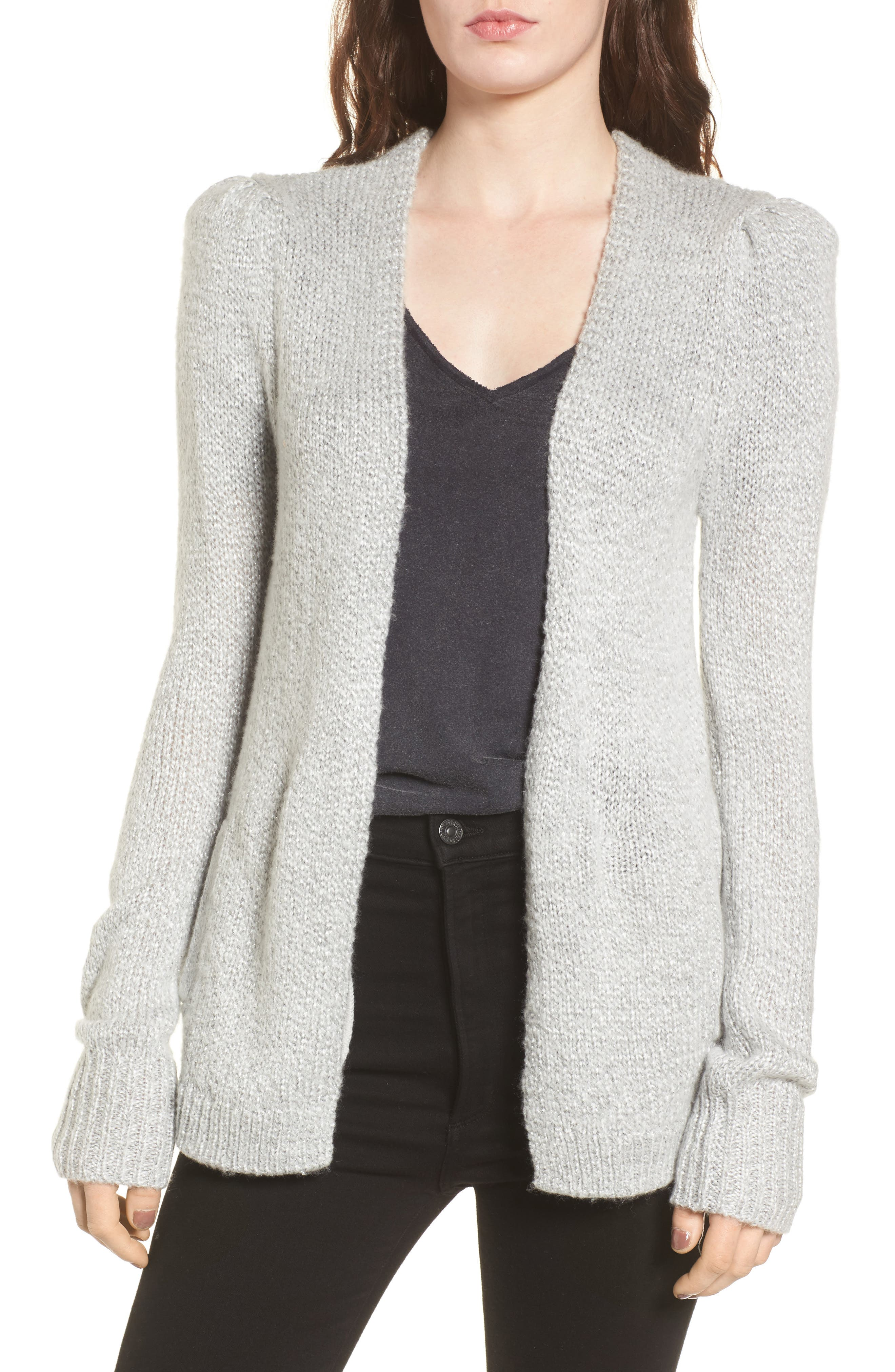 Shine Cardigan Sweater,                             Main thumbnail 1, color,                             020