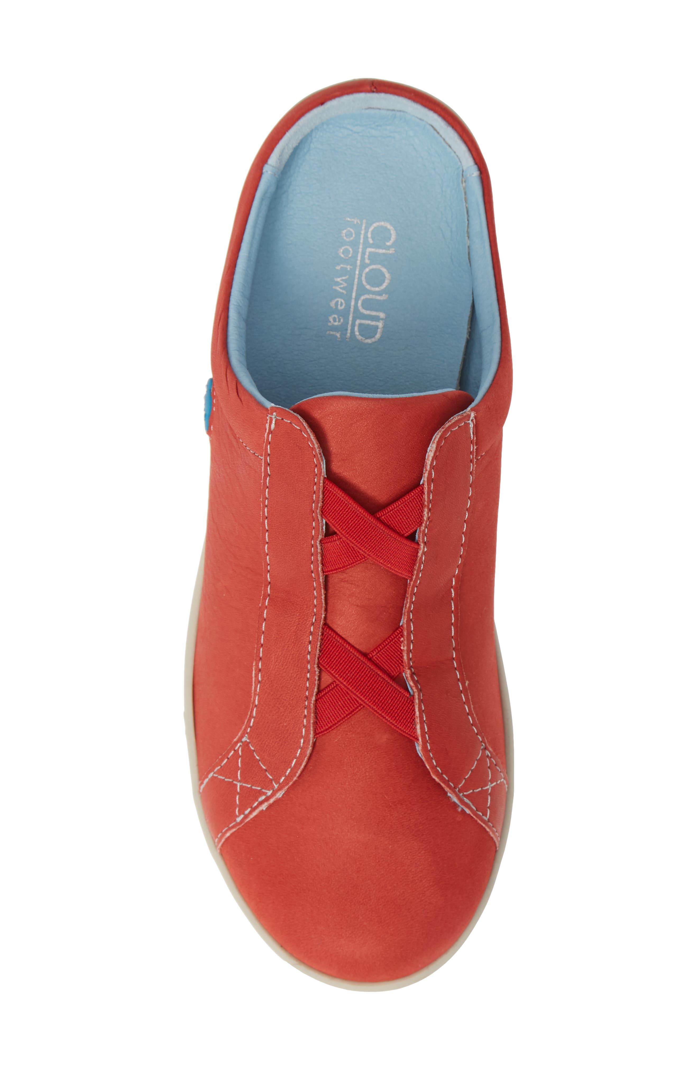 Arizona Sneaker,                             Alternate thumbnail 5, color,                             RED LEATHER