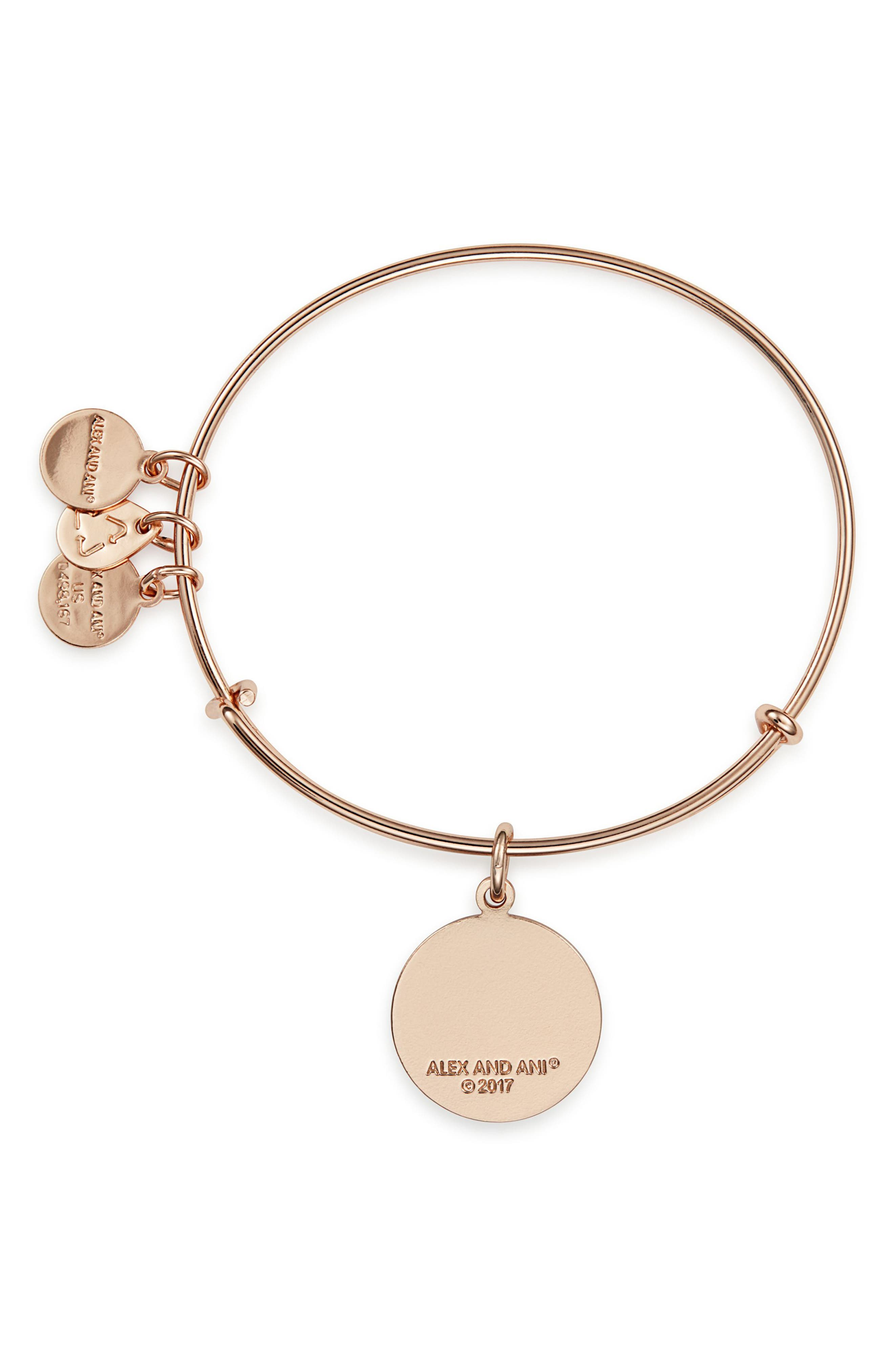 ALEX AND ANI,                             You Are Enough Expandable Bangle,                             Alternate thumbnail 2, color,                             650