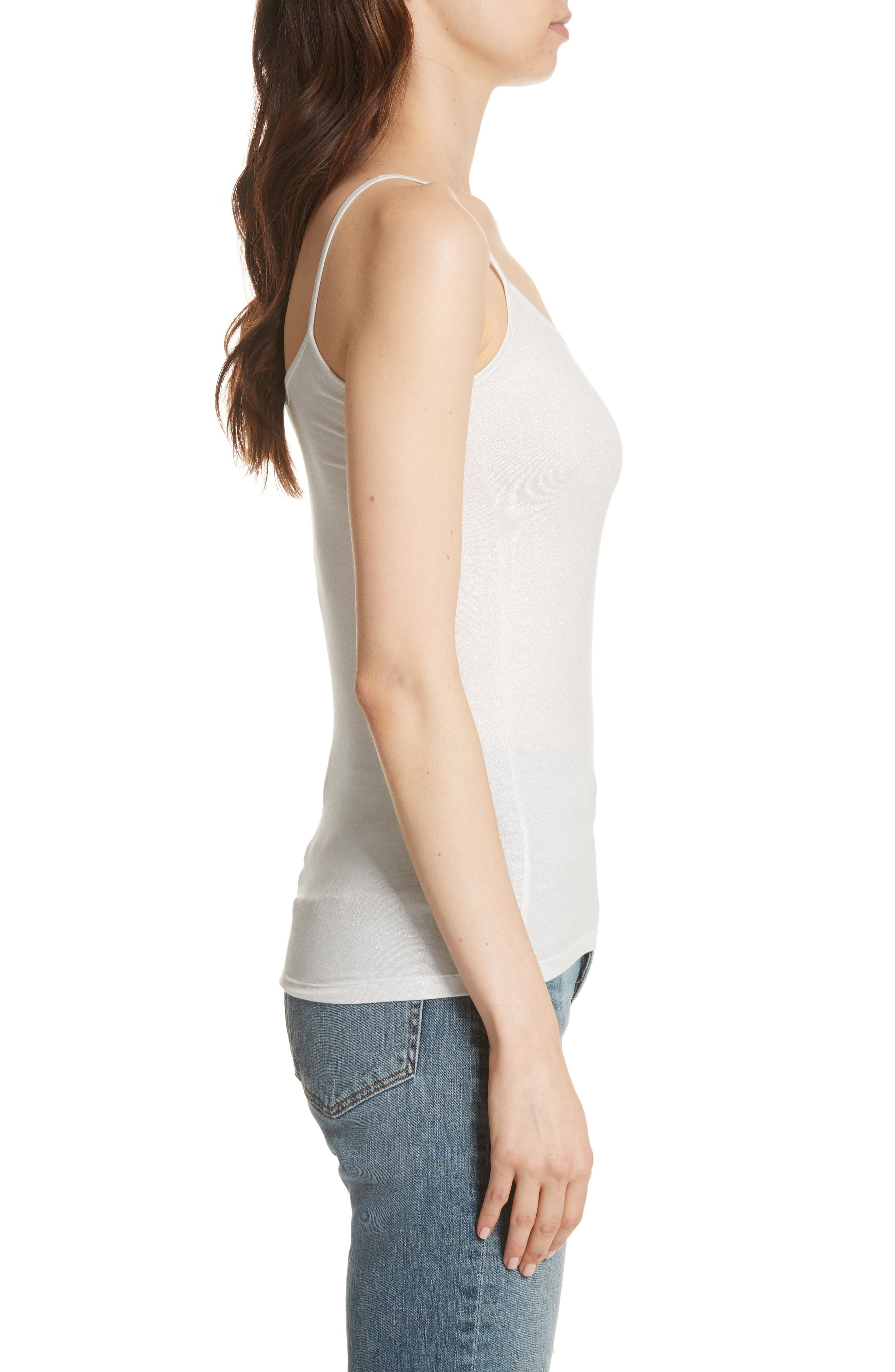 Extra Fine Metallic Camisole,                             Alternate thumbnail 3, color,                             043