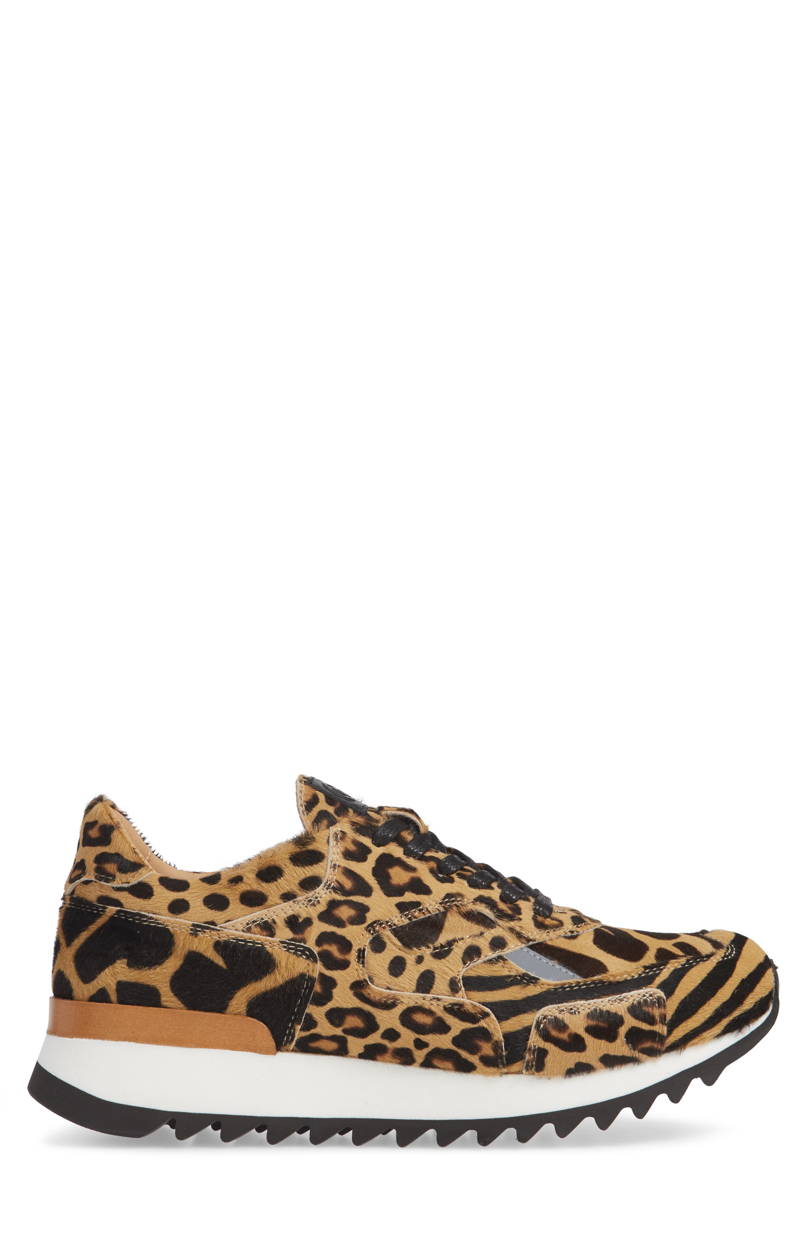 Nick Wooster x GREATS Pronto Genuine Calf Hair Sneaker,                             Alternate thumbnail 3, color,                             209