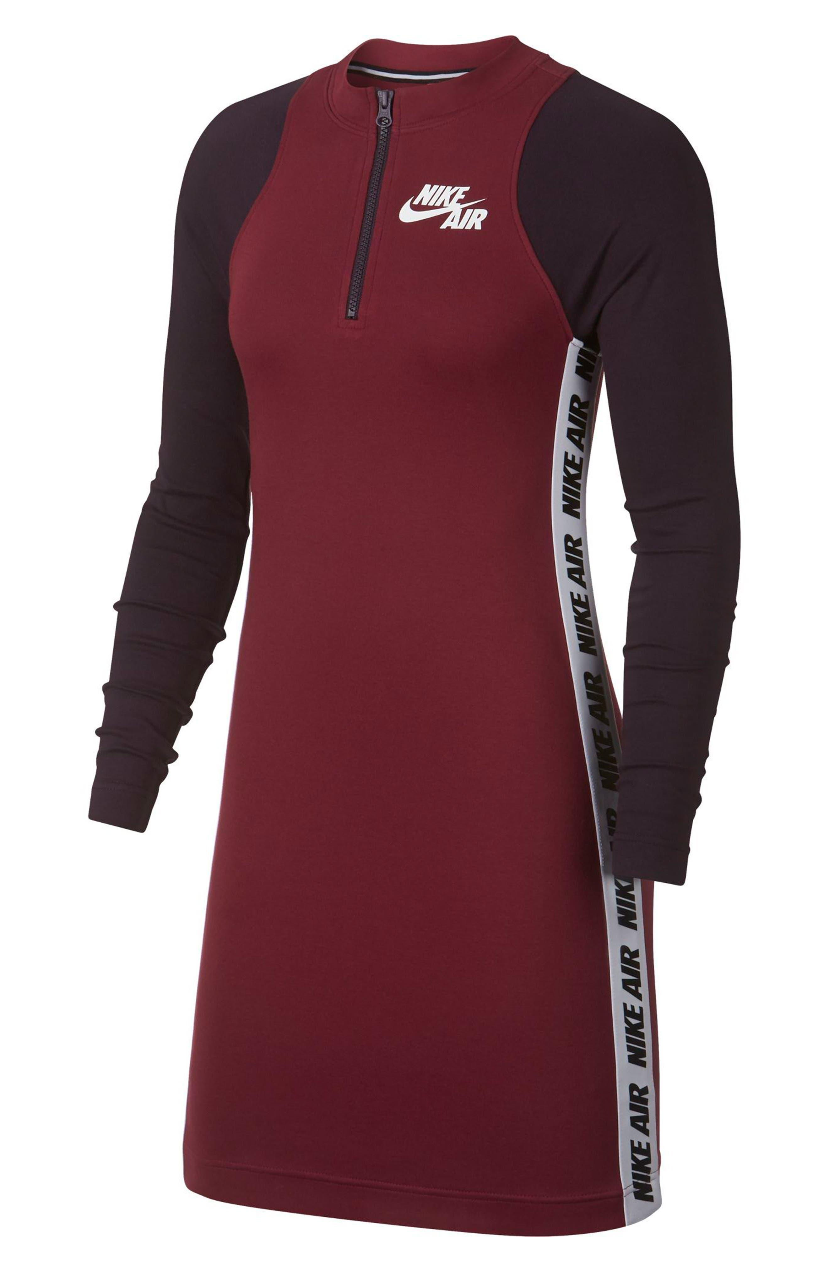 Sportswear Body-Con Jersey Dress,                         Main,                         color, TEAM RED