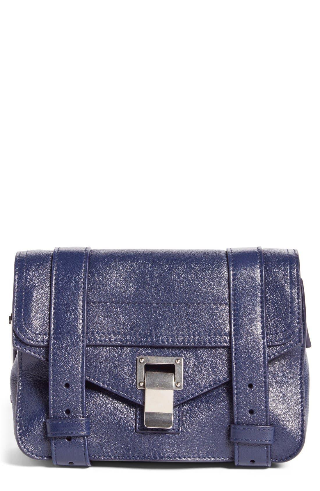 'Mini PS1' Lambskin Leather Crossbody Bag,                             Main thumbnail 2, color,