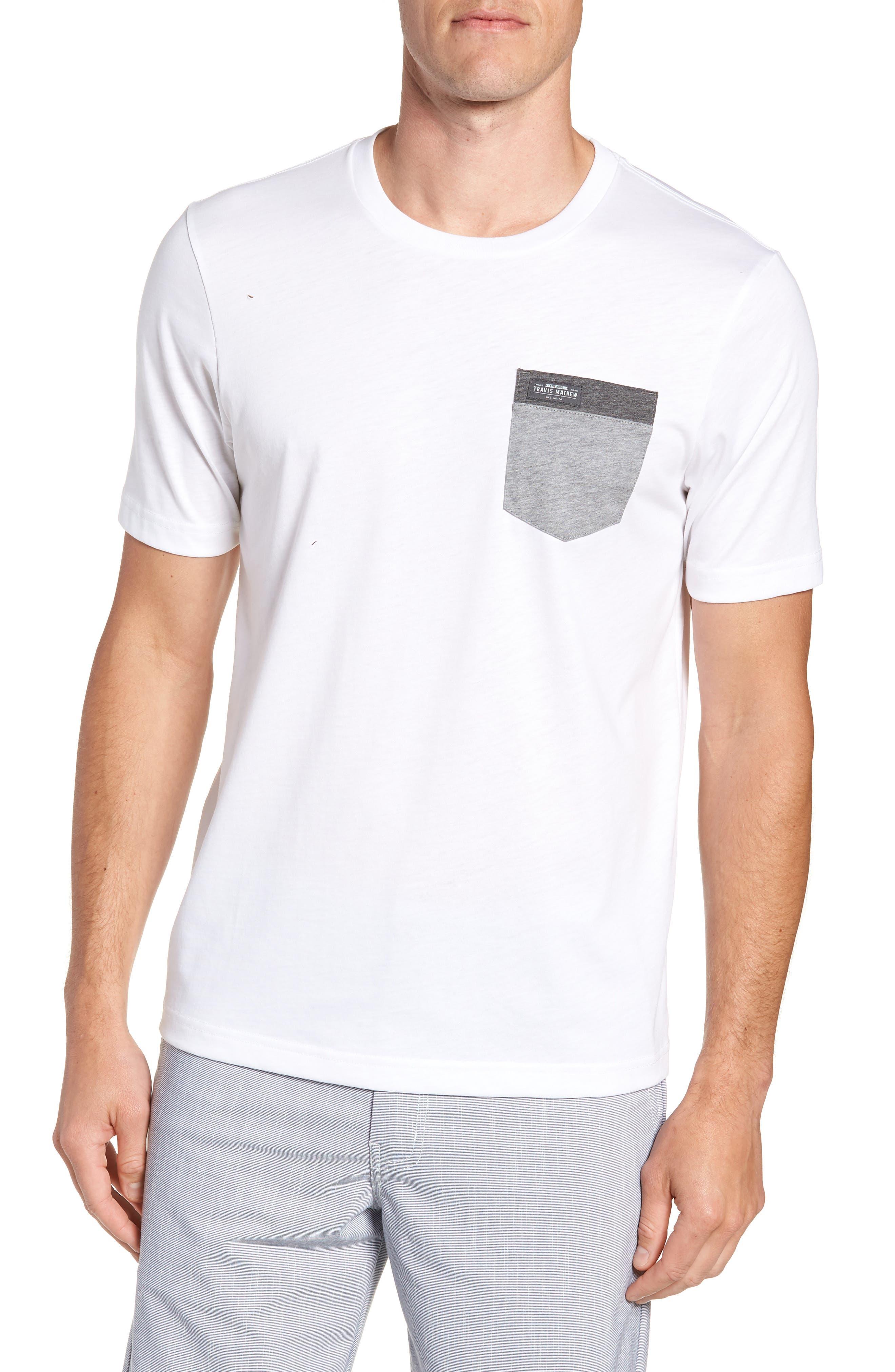 Muska Pocket T-Shirt,                         Main,                         color, 100