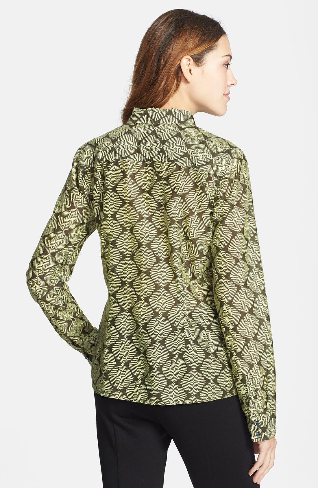 Cotton & Silk Shirt,                             Alternate thumbnail 65, color,