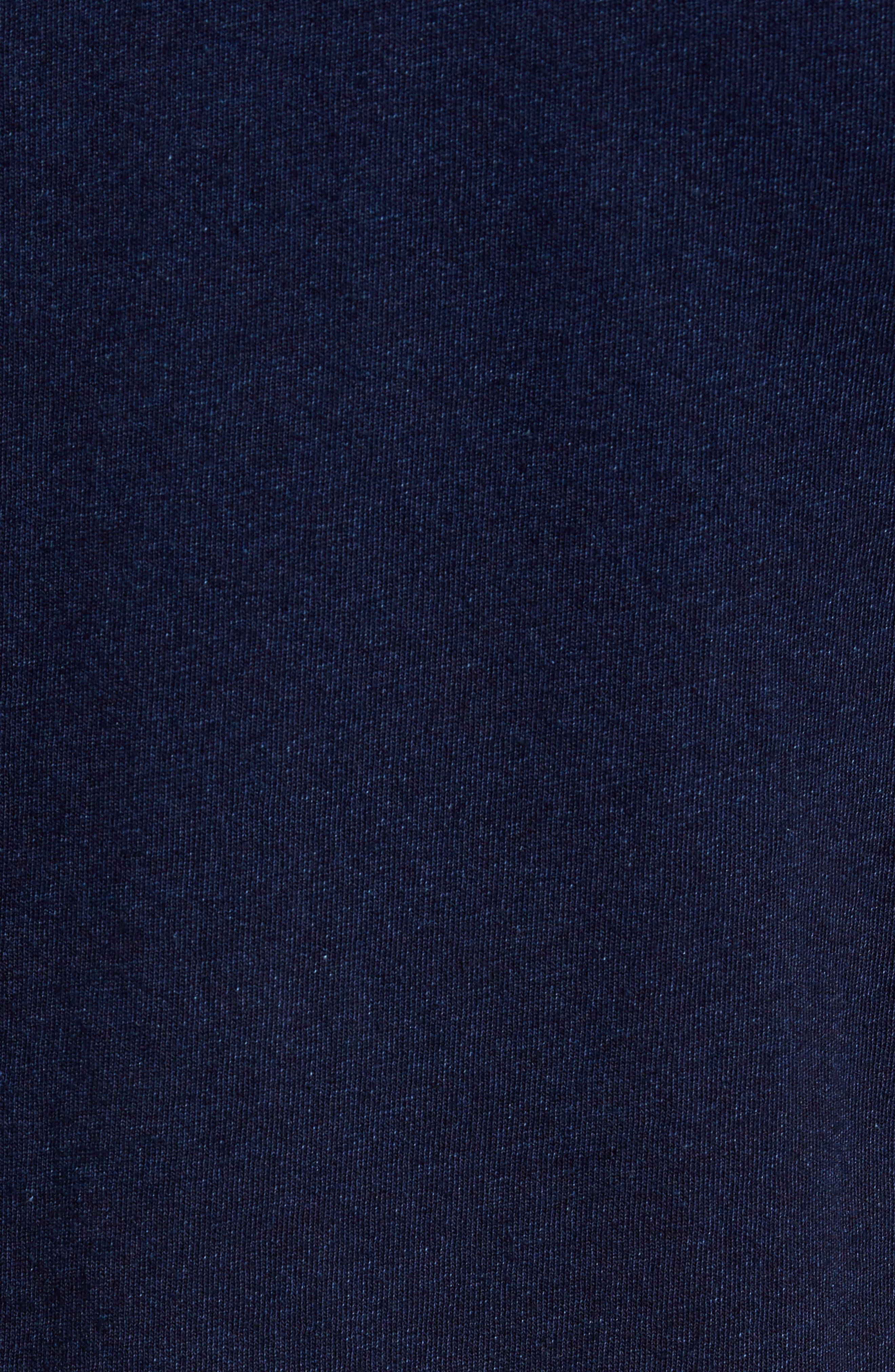 Denim Trim Jersey Polo,                             Alternate thumbnail 5, color,                             439