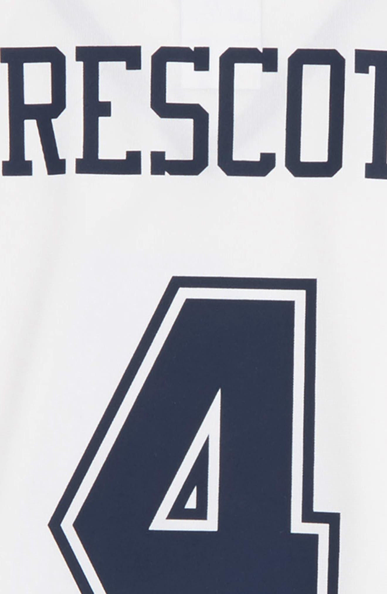 Nike NFL Dallas Cowboys Color Rush – Dak Prescott Jersey,                             Alternate thumbnail 3, color,                             WHT