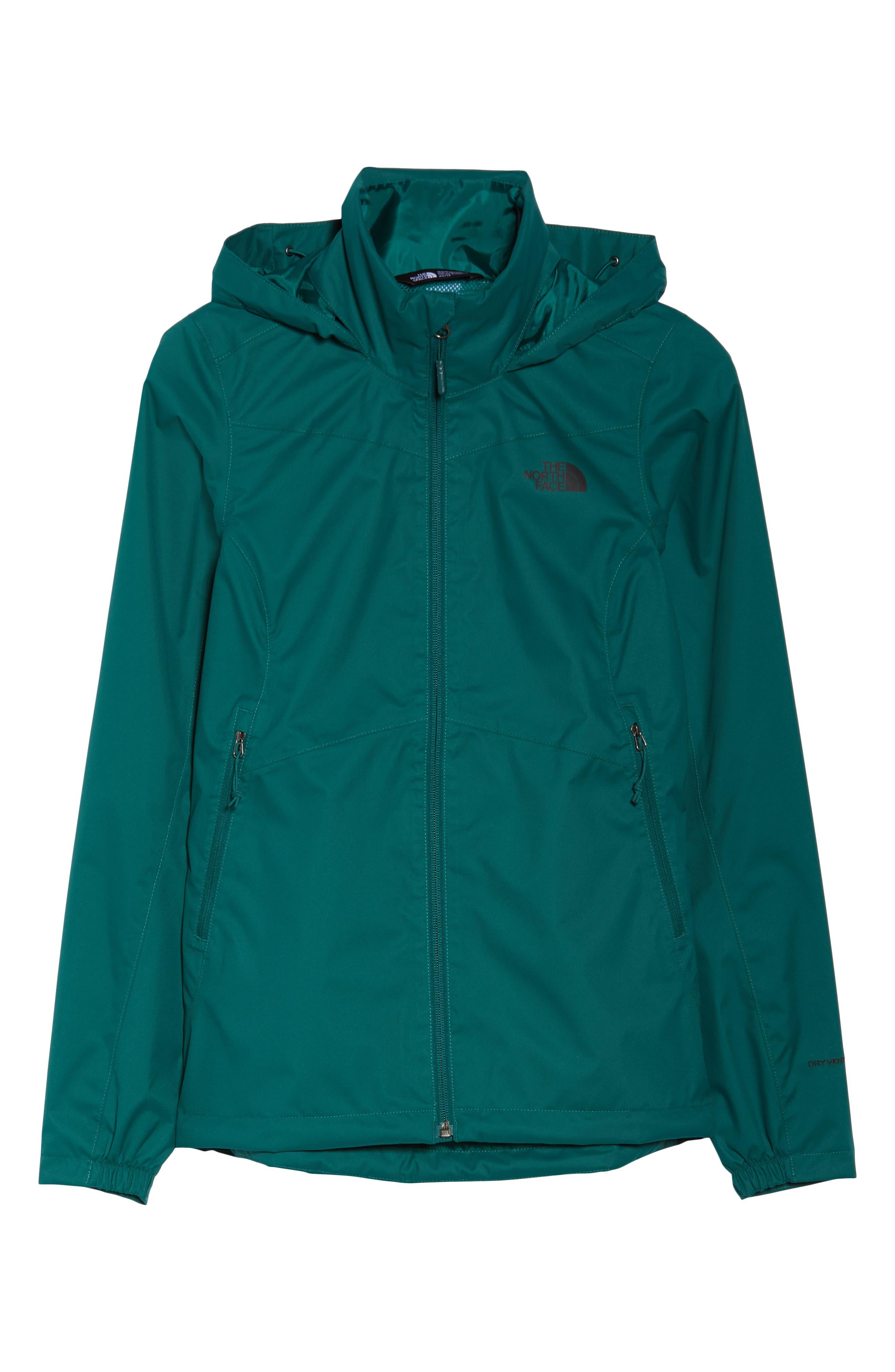 Resolve Plus Waterproof Jacket,                             Alternate thumbnail 6, color,                             BOTANICAL GREEN