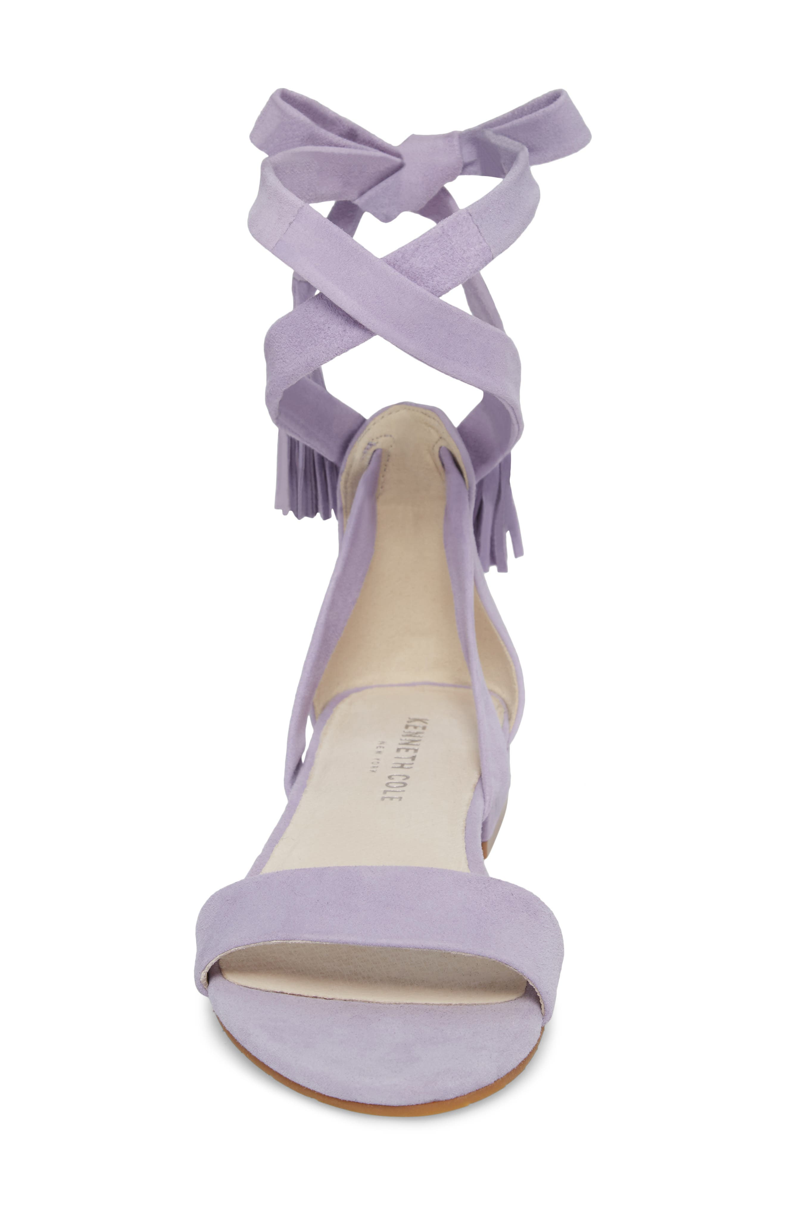 Valen Tassel Lace-Up Sandal,                             Alternate thumbnail 4, color,                             530