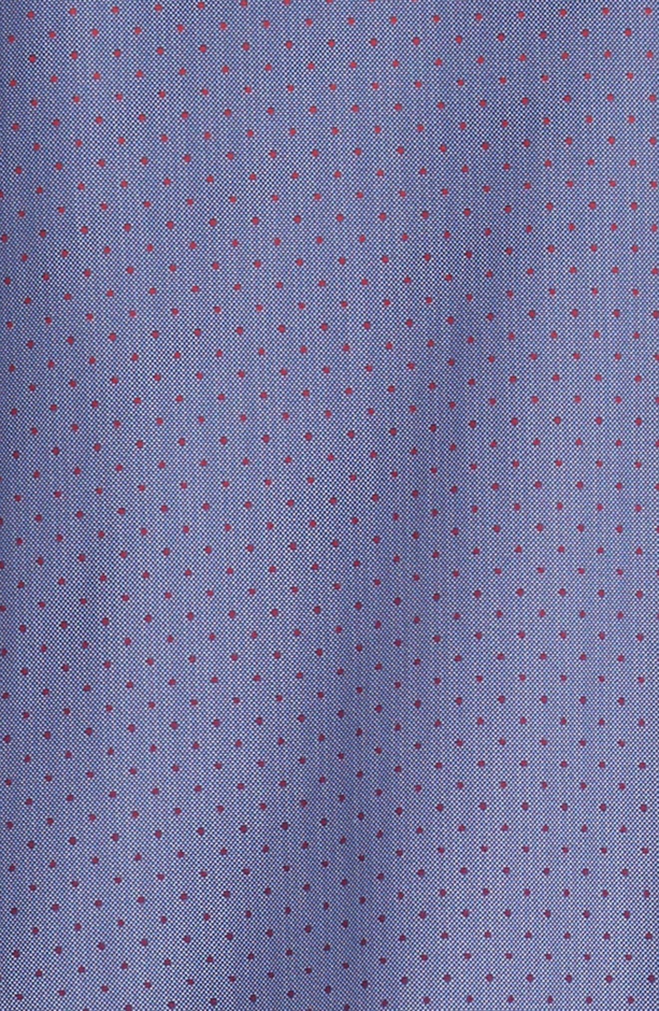 STONE ROSE,                             Gradient Dot Regular Fit Sport Shirt,                             Alternate thumbnail 6, color,                             400