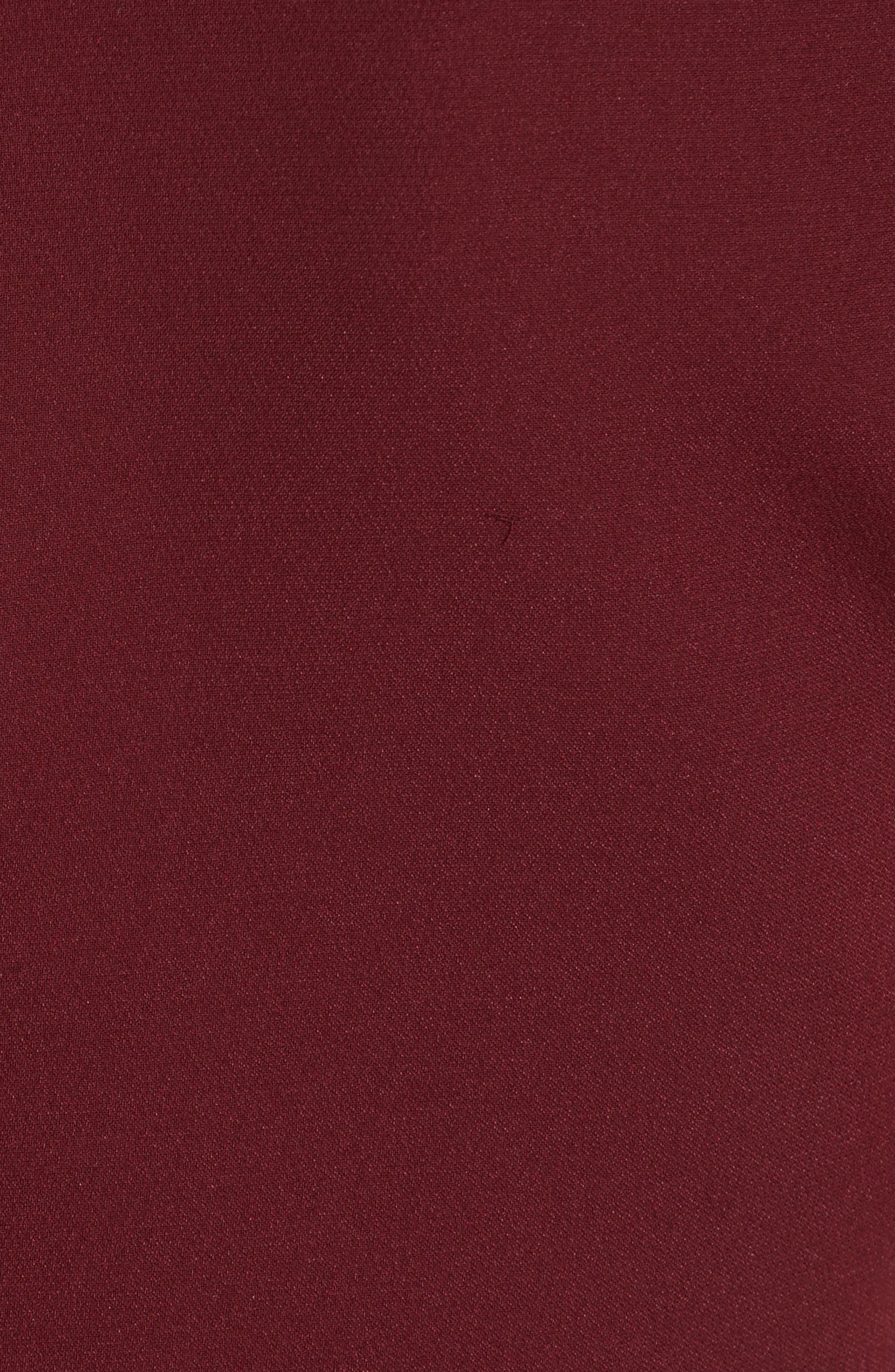 Hiroko Sleeveless Silk Dress,                             Alternate thumbnail 5, color,