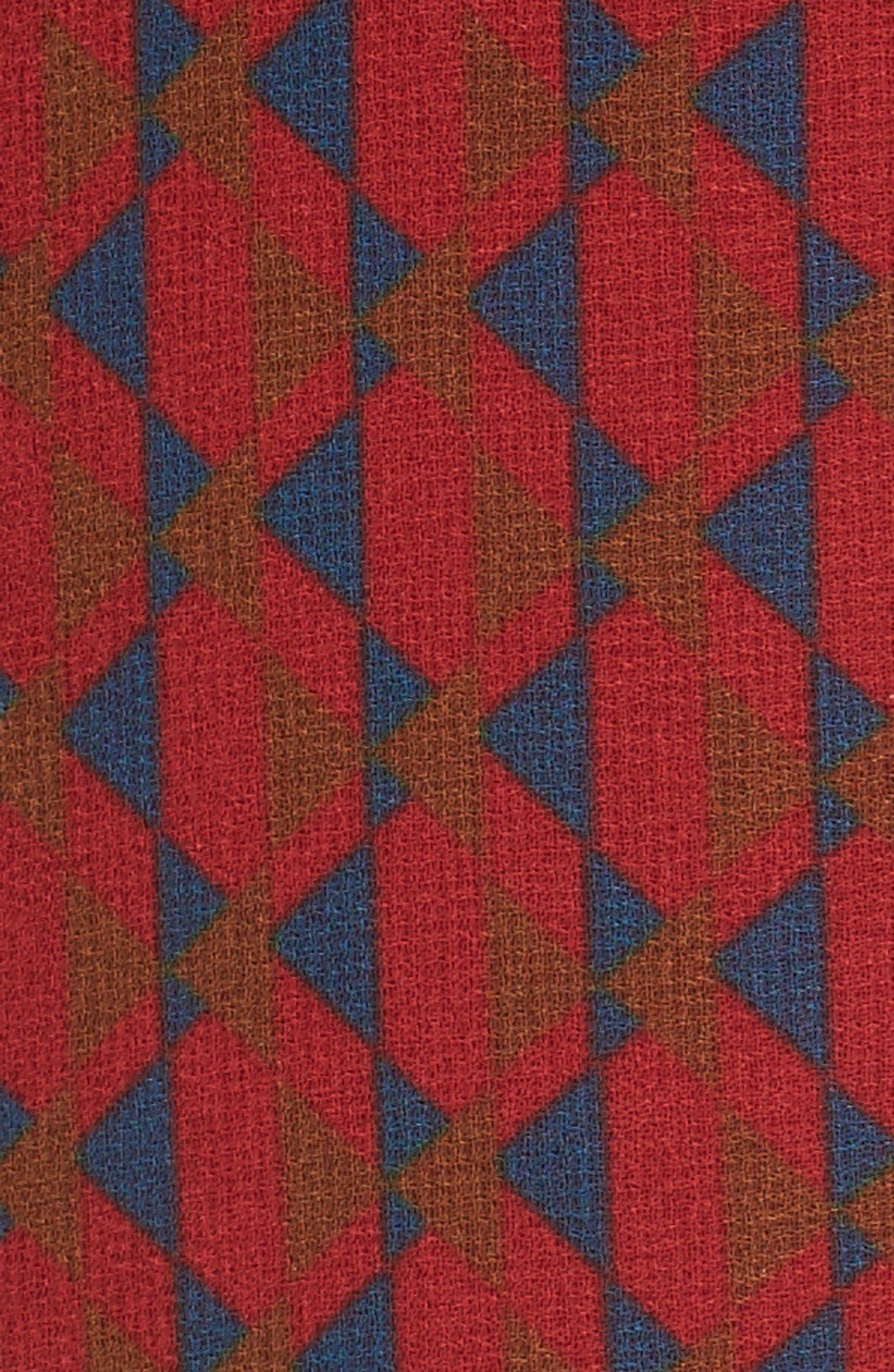 Eryn Ruffle Bell Sleeve Blouse,                             Alternate thumbnail 5, color,                             600