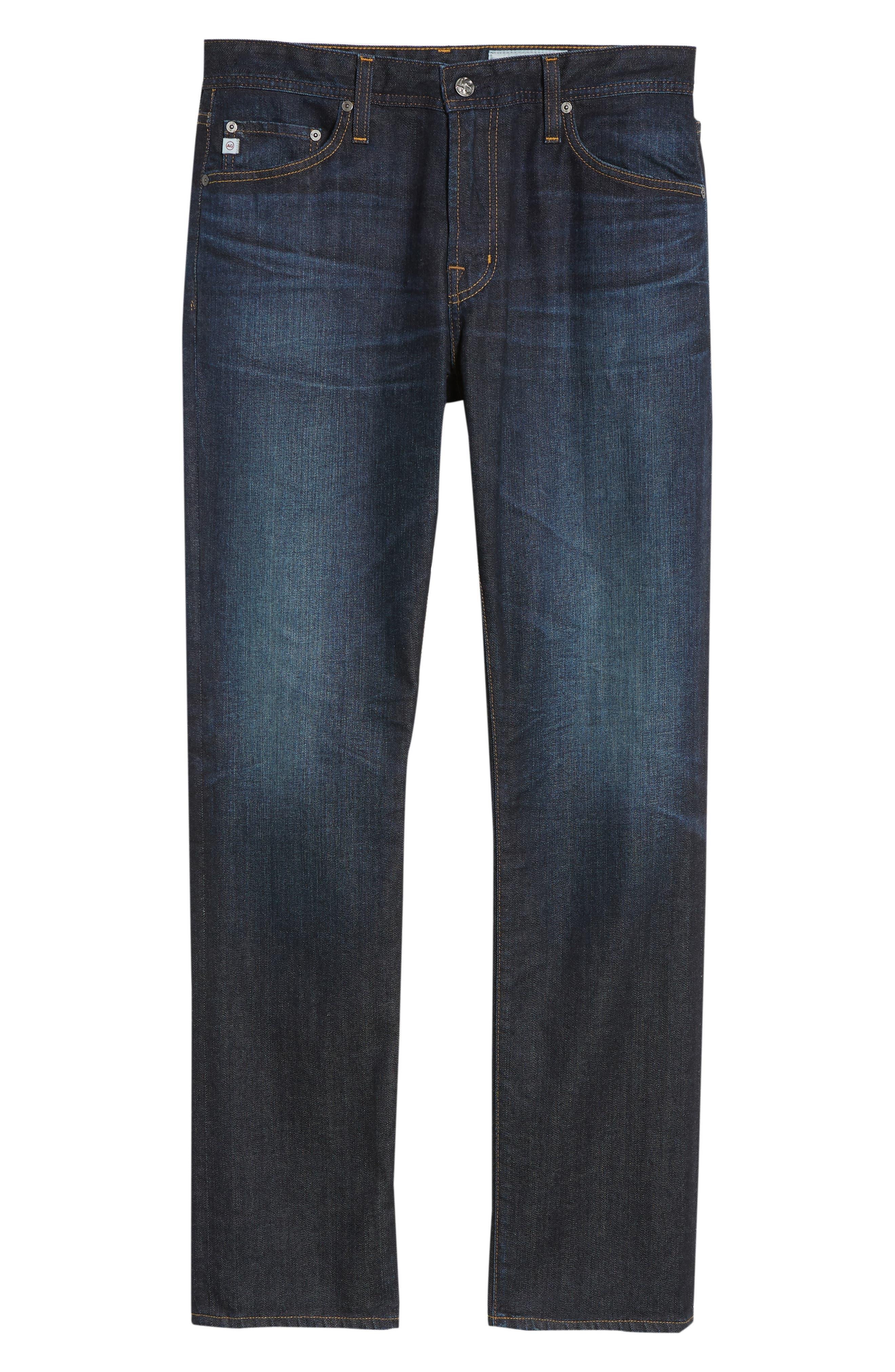 Everett Slim Straight Leg Jeans,                             Alternate thumbnail 6, color,                             5 YEARS CASINO