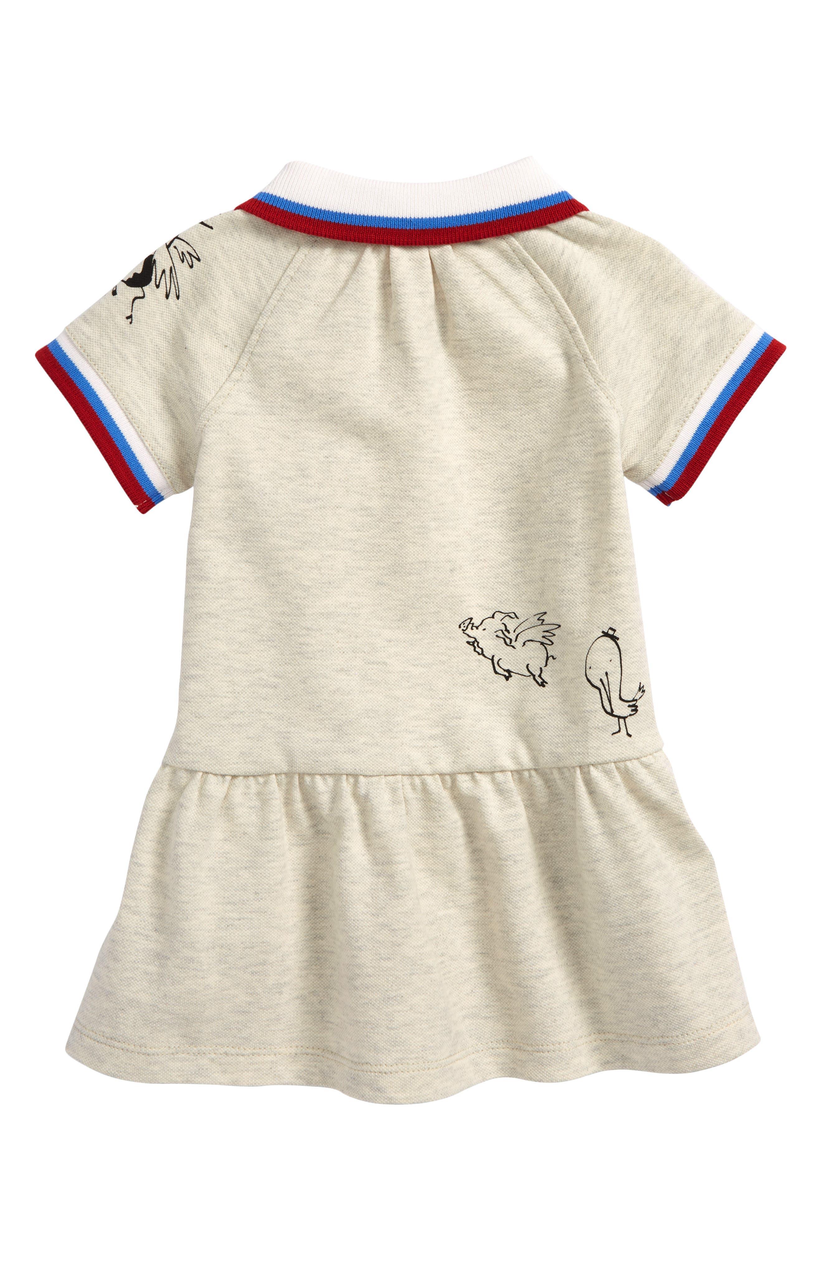 Mini Cali Polo Dress,                             Alternate thumbnail 2, color,                             100