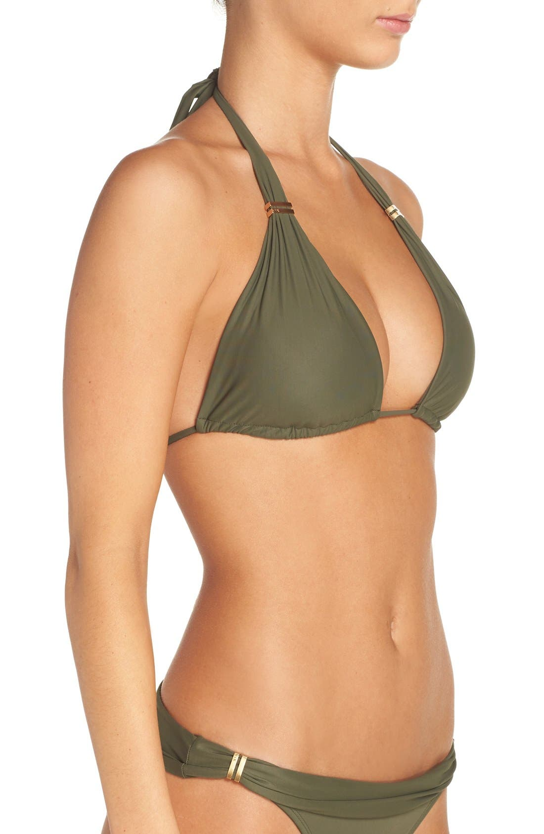 'Bia' Halter Bikini Top,                             Alternate thumbnail 5, color,                             300