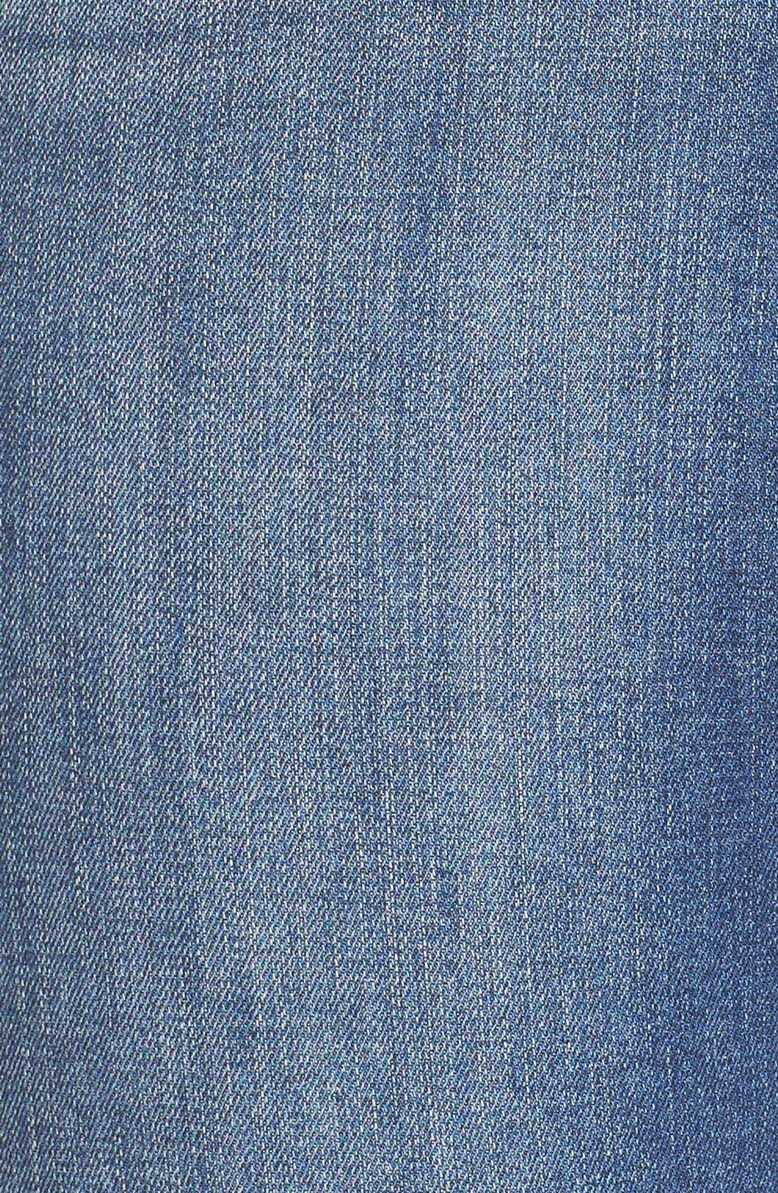 Stretch Crop Jeans,                             Alternate thumbnail 4, color,                             428