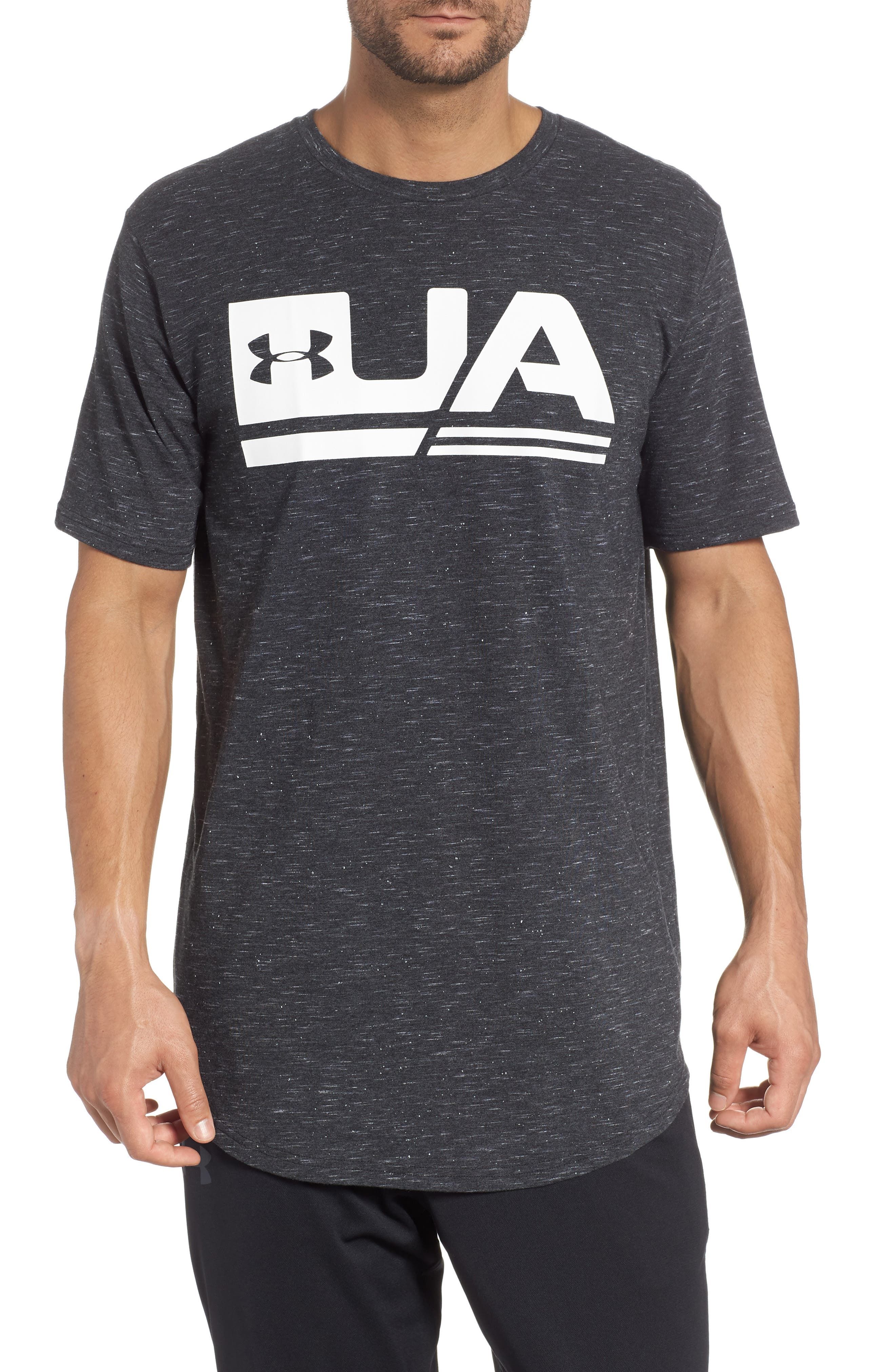 Sportstyle Graphic T-Shirt,                         Main,                         color, BLACK