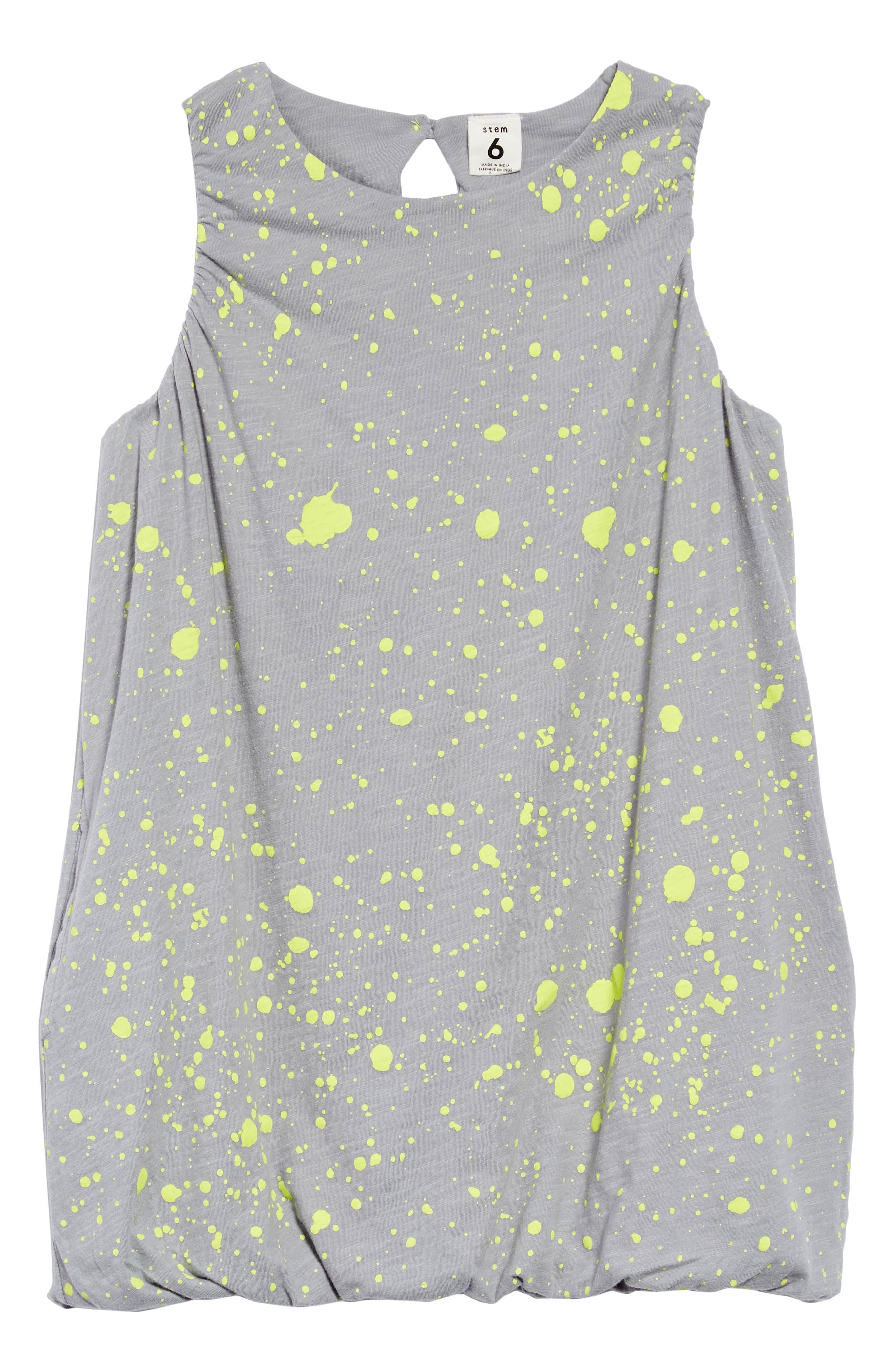 Cotton Bubble Dress,                             Main thumbnail 1, color,