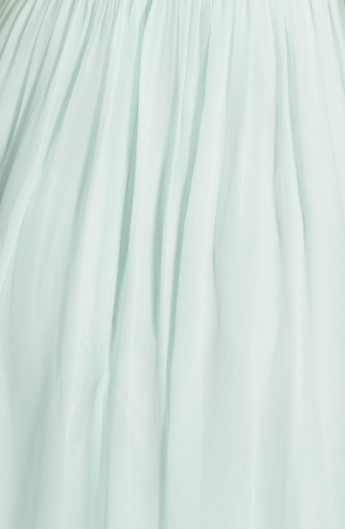 'Morgan' Strapless Silk Chiffon Dress,                             Alternate thumbnail 152, color,