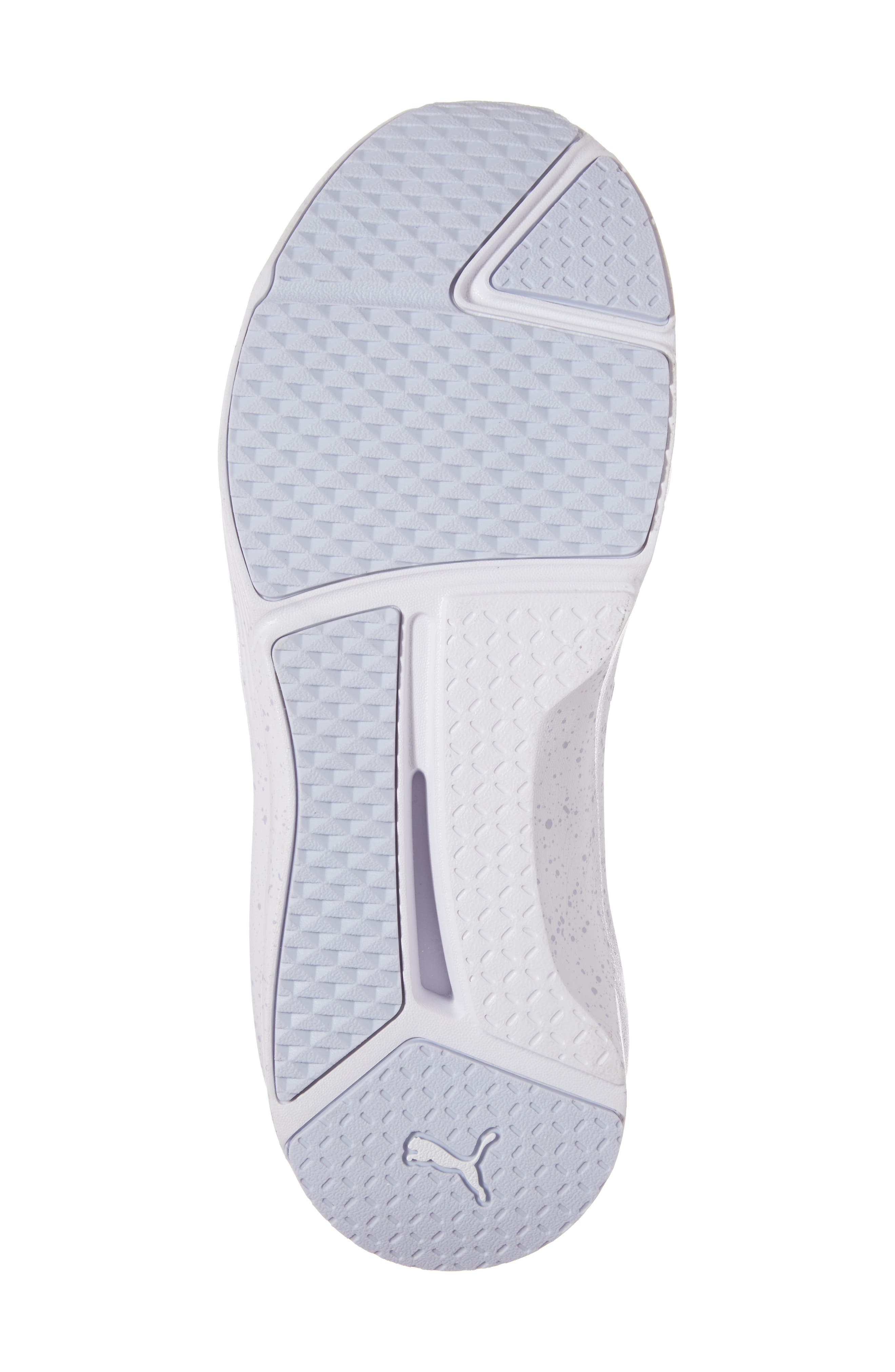 Fierce Bleached High Top Sneaker,                             Alternate thumbnail 6, color,                             400