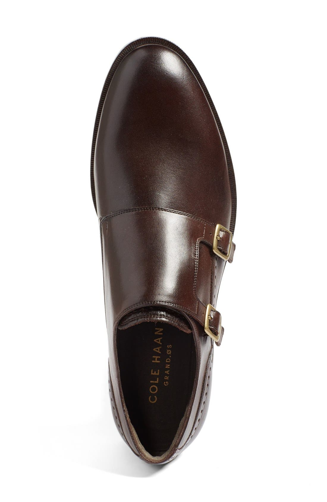 'Harrison' Double Monk Strap Shoe,                             Alternate thumbnail 3, color,                             205